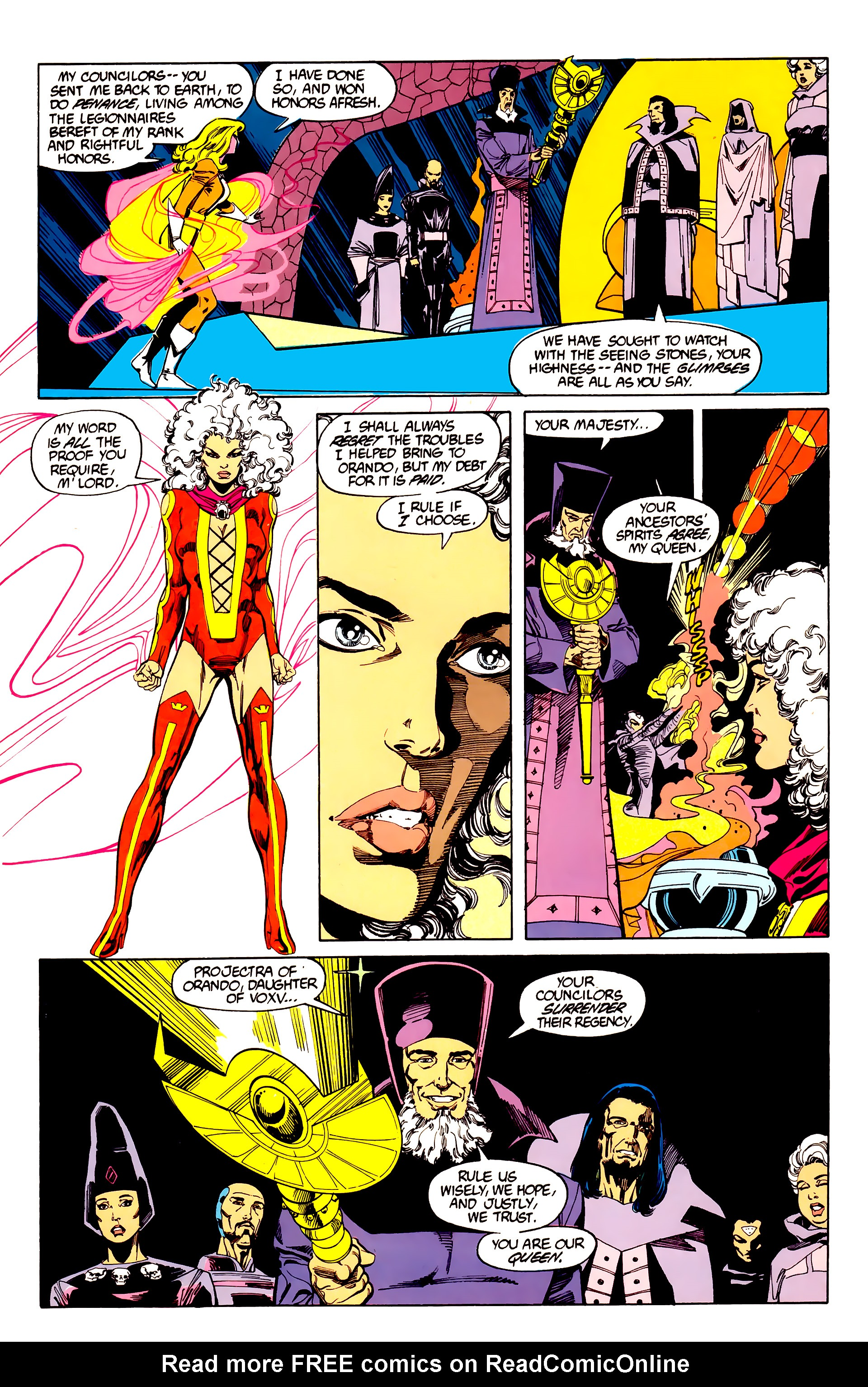 Legion of Super-Heroes (1984) 27 Page 3