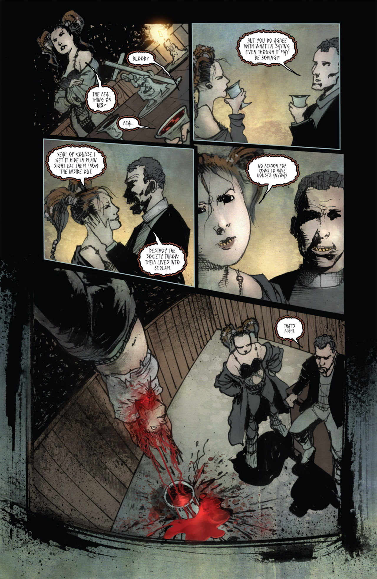 Read online 30 Days of Night (2011) comic -  Issue #1 - 19