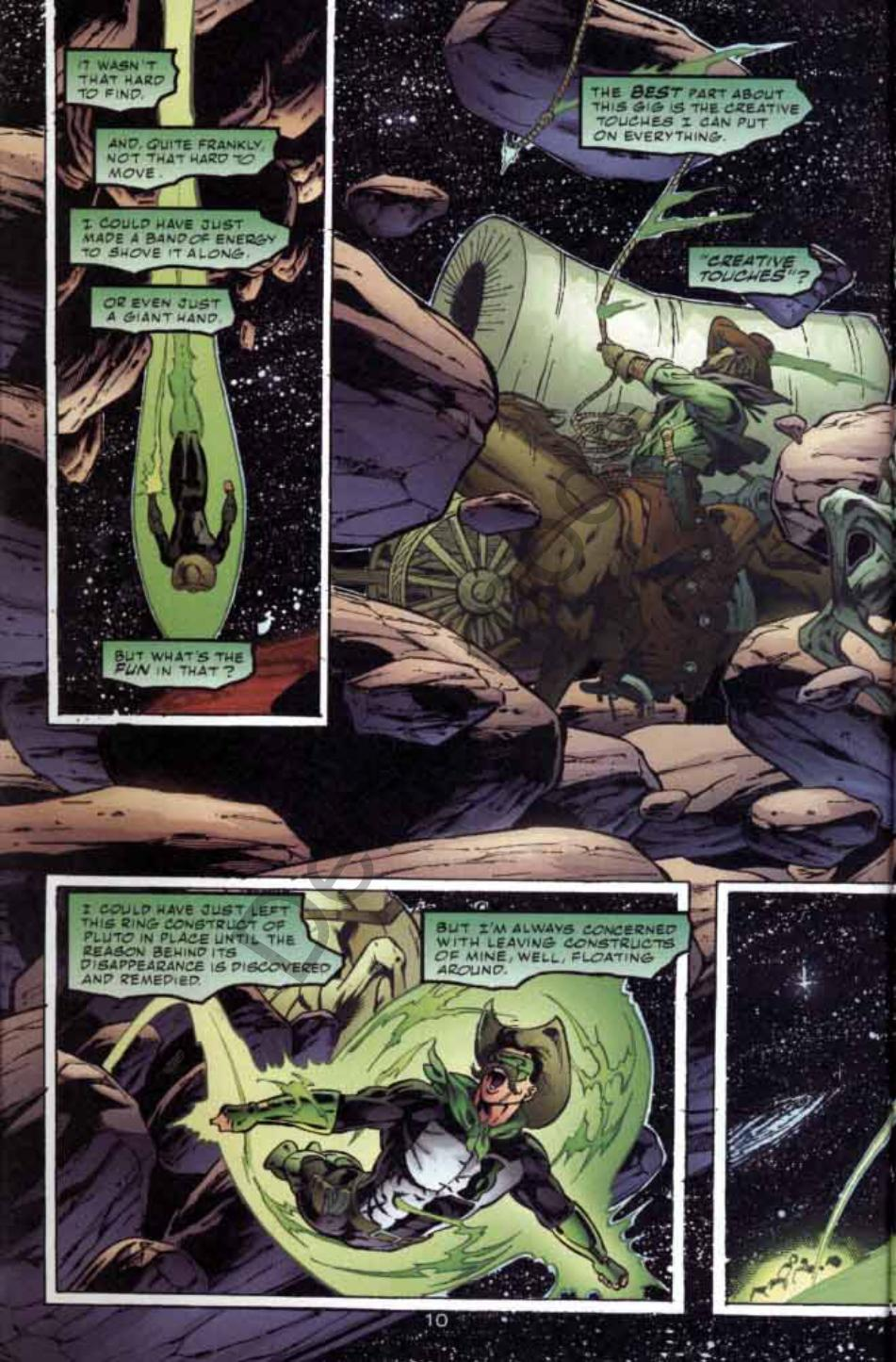 Read online Green Lantern: Our Worlds At War comic -  Issue # Full - 10