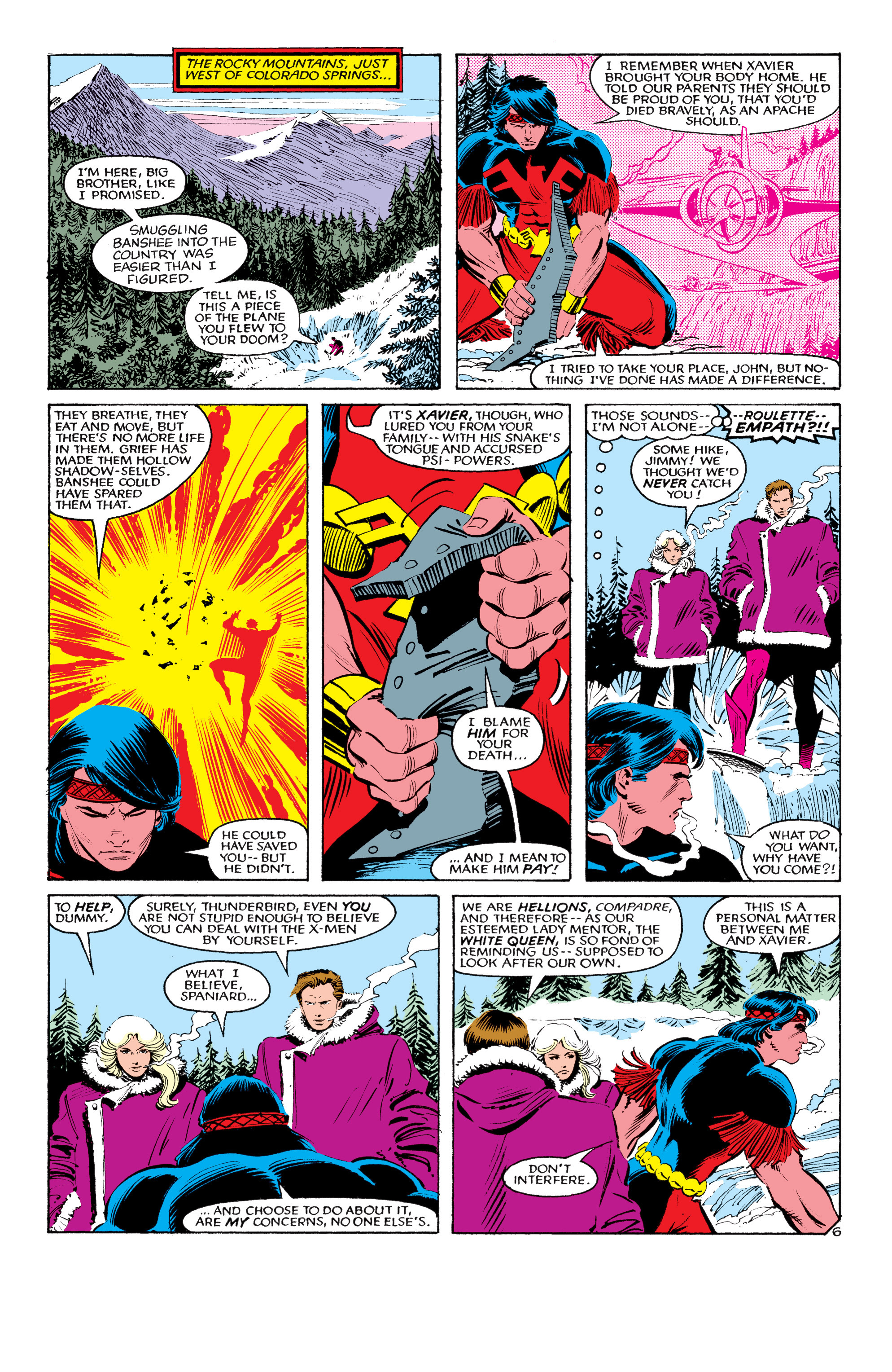 Read online Uncanny X-Men (1963) comic -  Issue #193 - 7