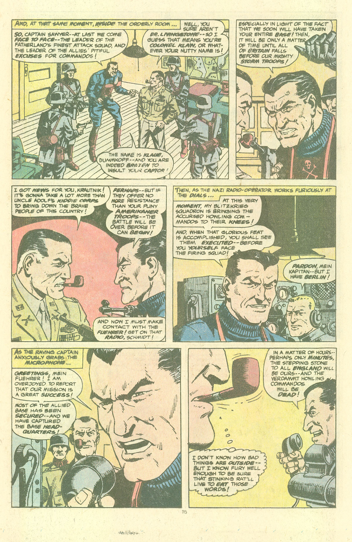 Read online Sgt. Fury comic -  Issue #143 - 17