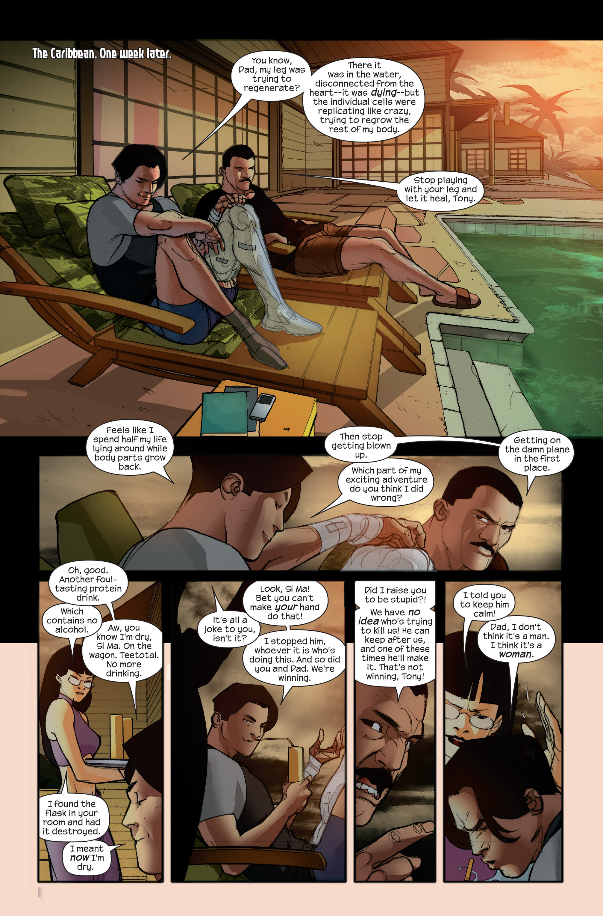 Read online Ultimate Iron Man II comic -  Issue #4 - 22
