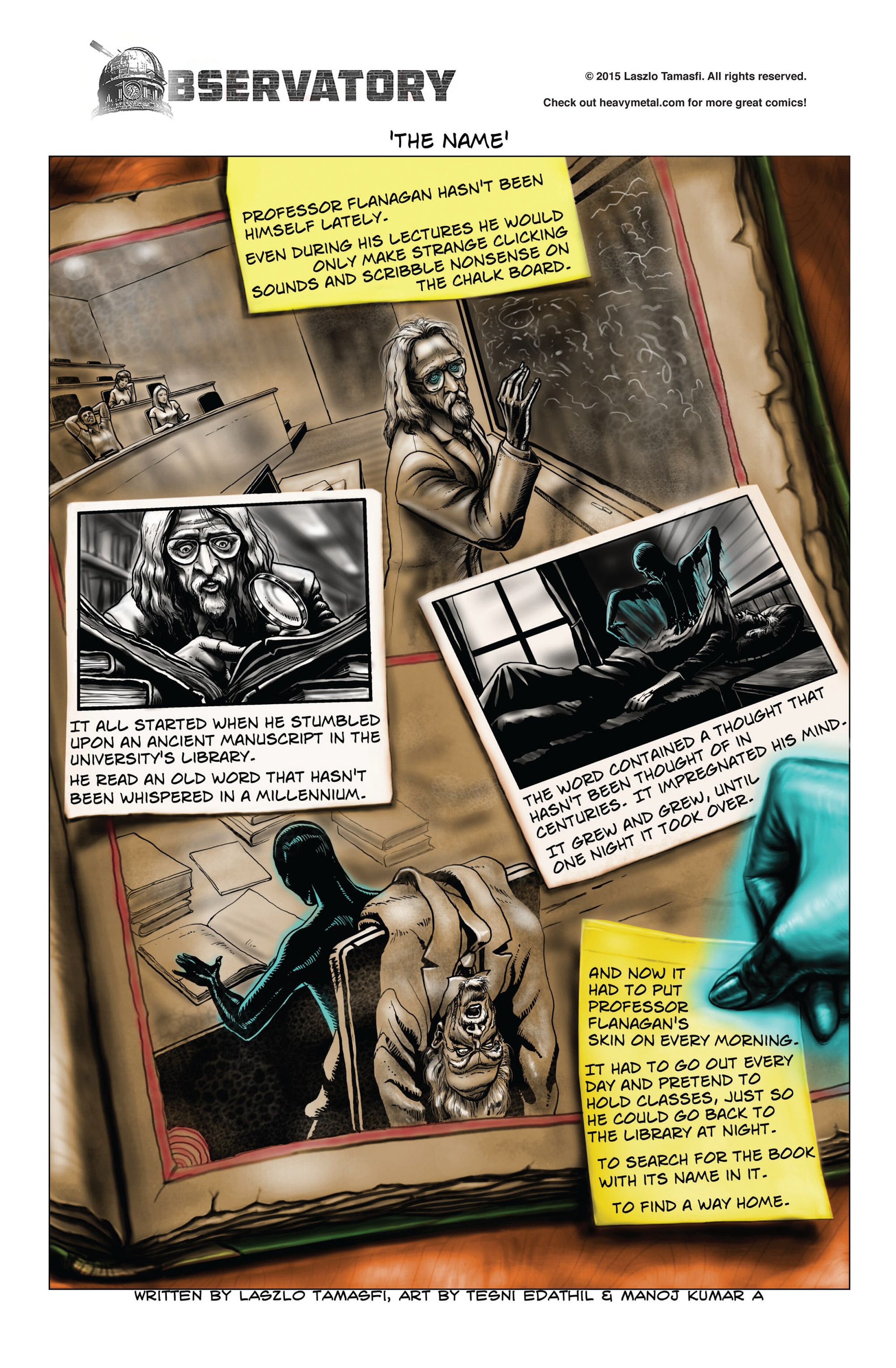 Read online Hoax Hunters (2015) comic -  Issue #4 - 27