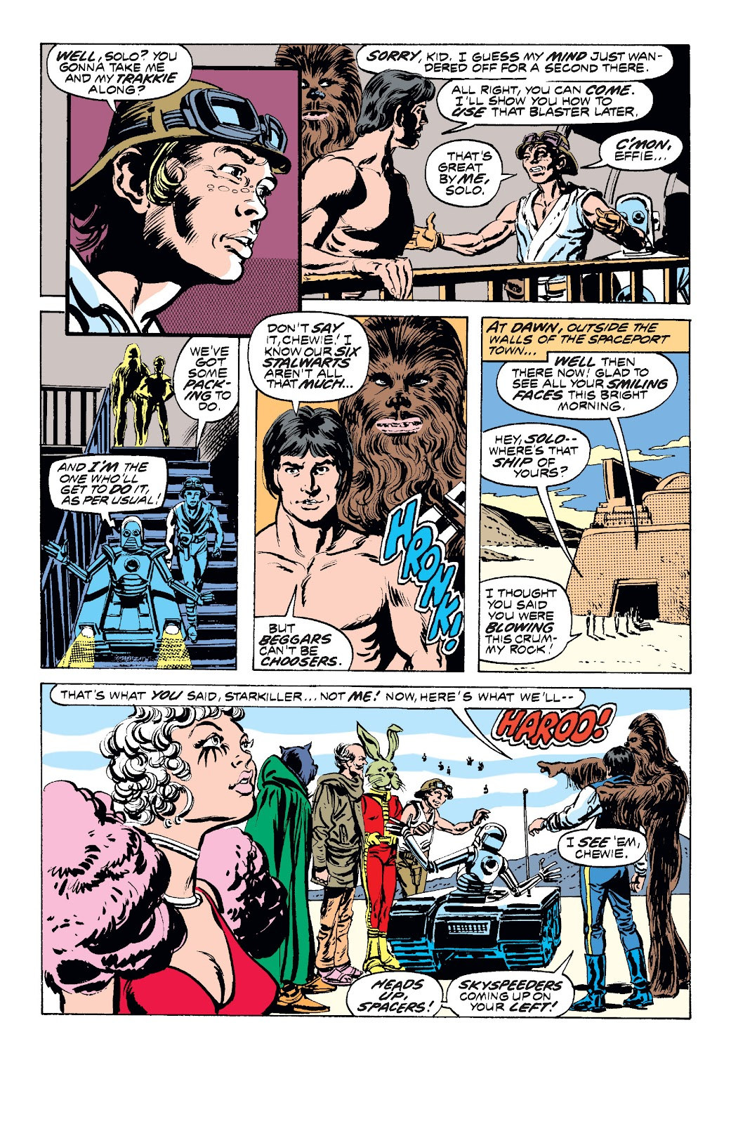 Read online Star Wars Legends: The Original Marvel Years - Epic Collection comic -  Issue # TPB 1 (Part 2) - 50