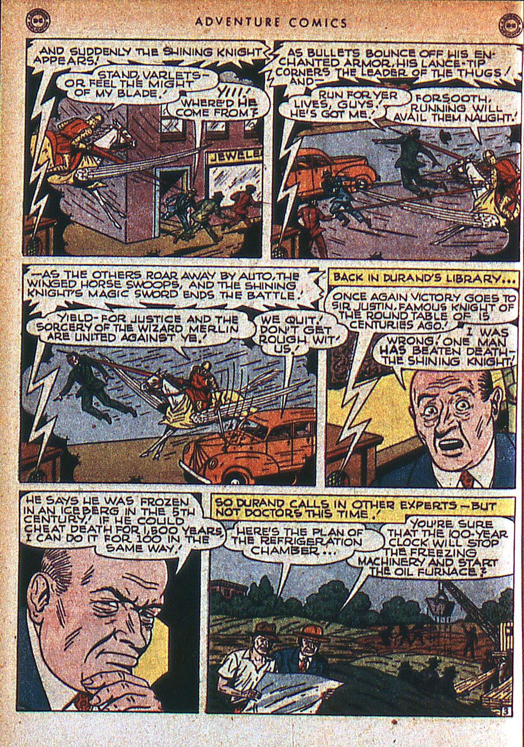 Read online Adventure Comics (1938) comic -  Issue #125 - 35