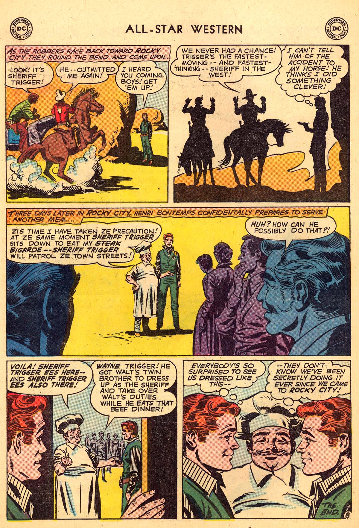 Read online All-Star Western (1951) comic -  Issue #110 - 32