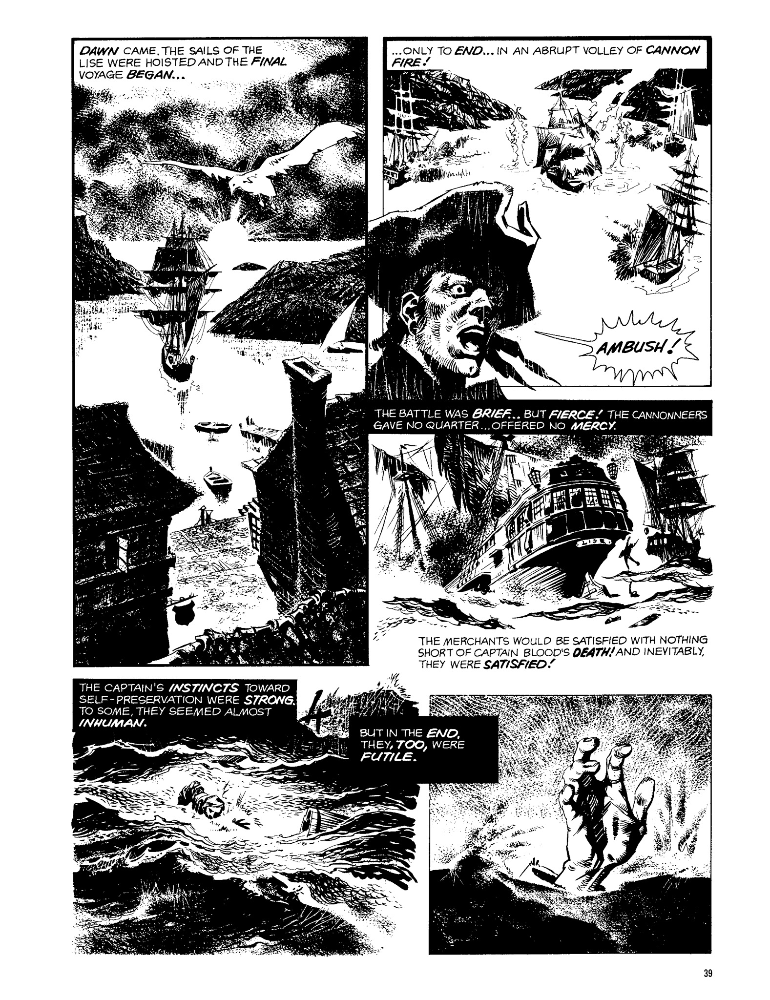 Read online Eerie Archives comic -  Issue # TPB 13 - 40