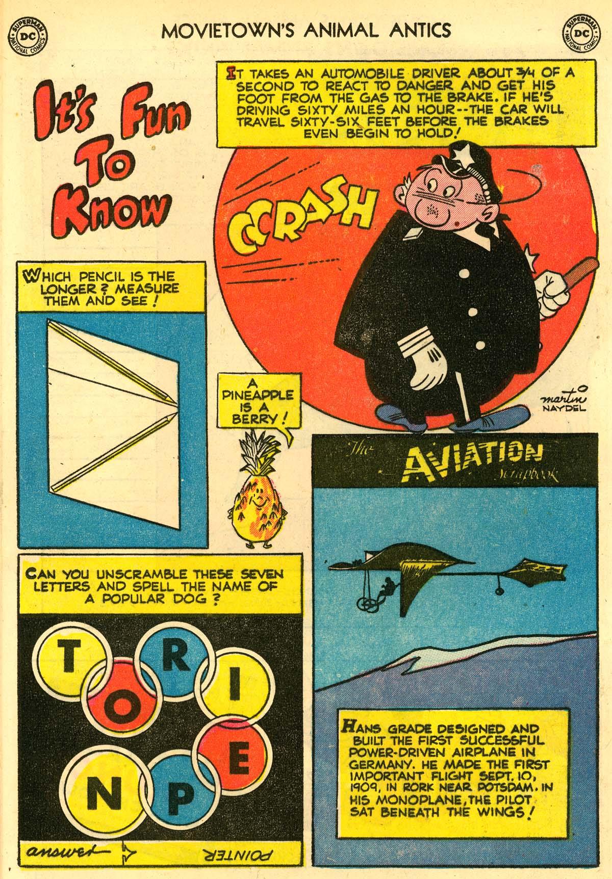 Read online Animal Antics comic -  Issue #33 - 34