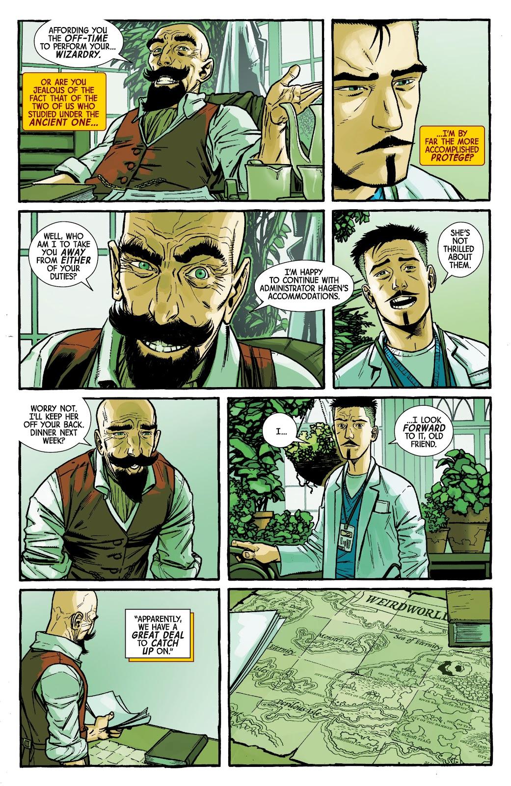 Read online Dr. Strange comic -  Issue #2 - 11