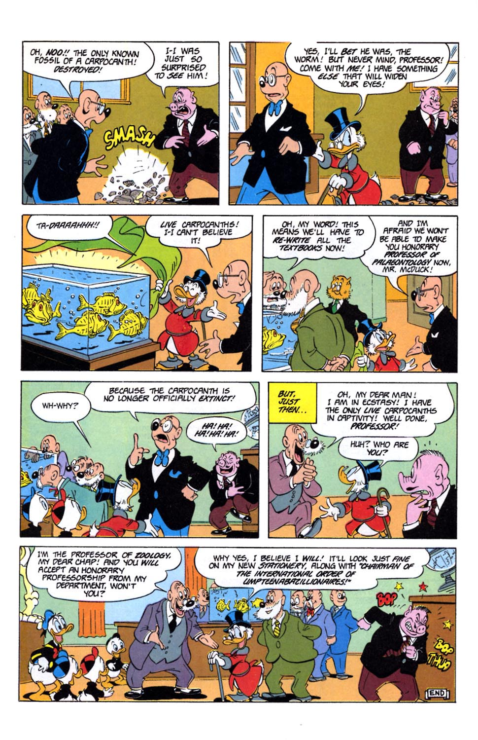 Read online Uncle Scrooge (1953) comic -  Issue #243 - 28