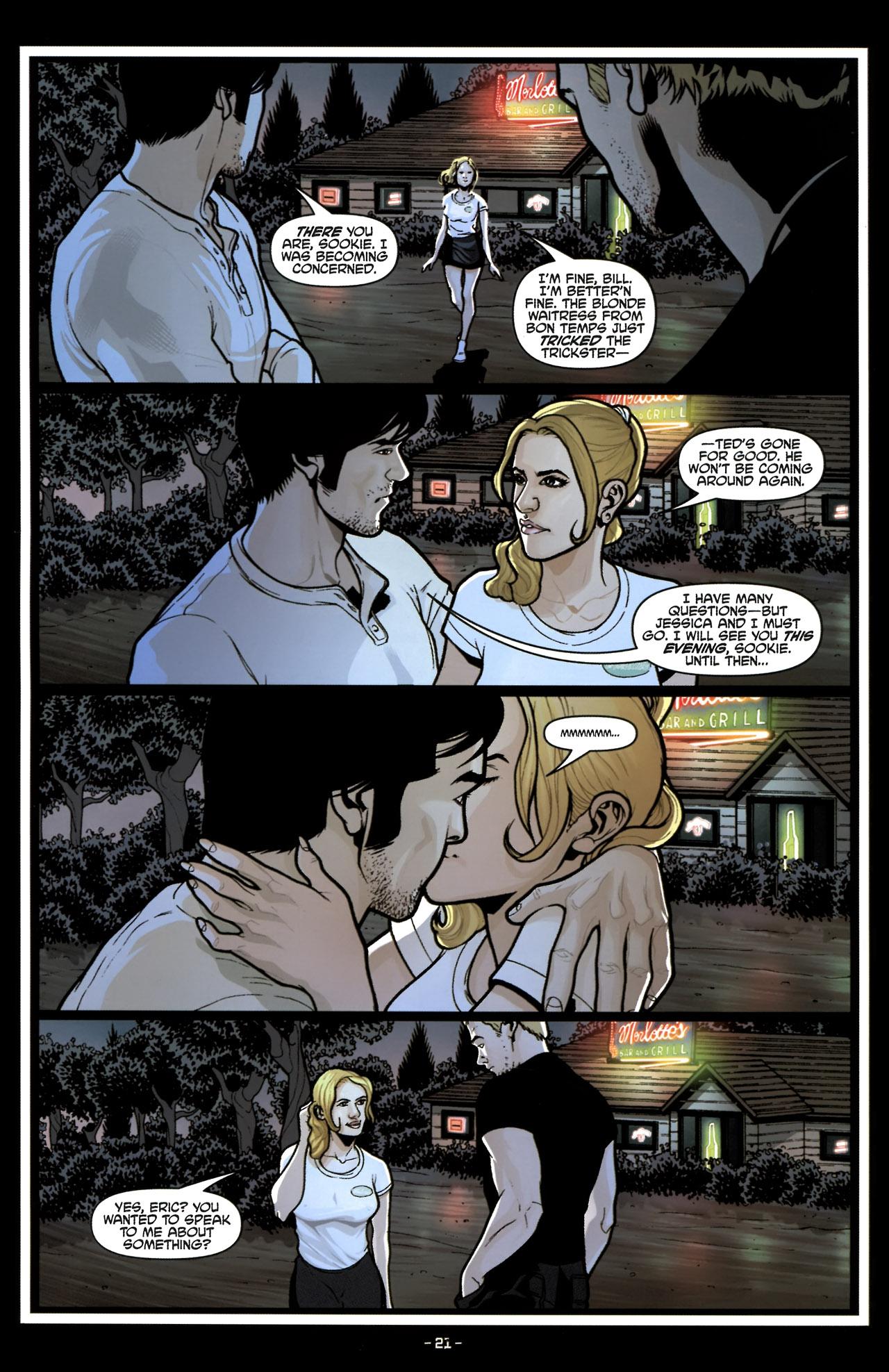Read online True Blood (2010) comic -  Issue #6 - 23