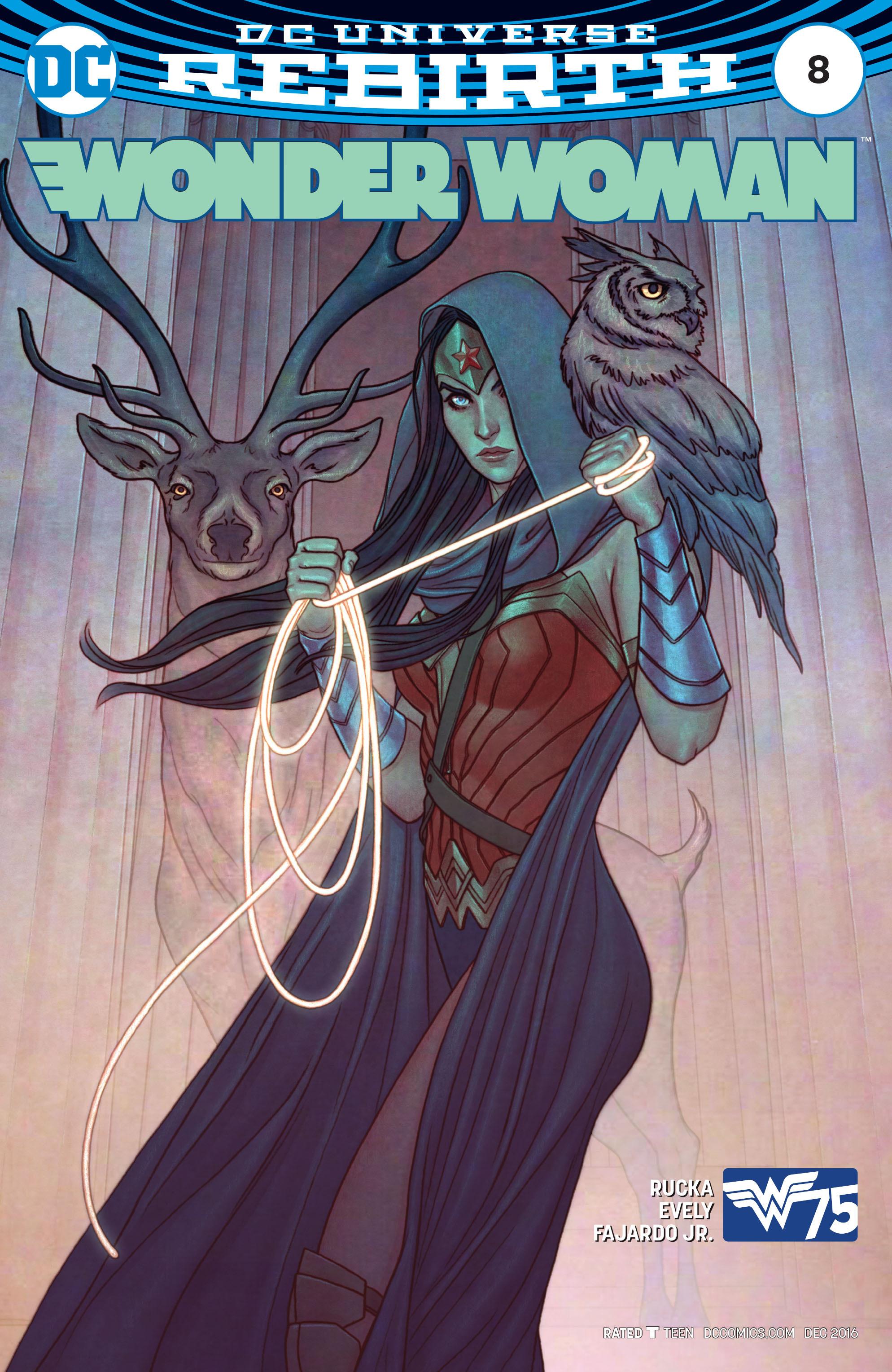 Read online Wonder Woman (2016) comic -  Issue #8 - 2