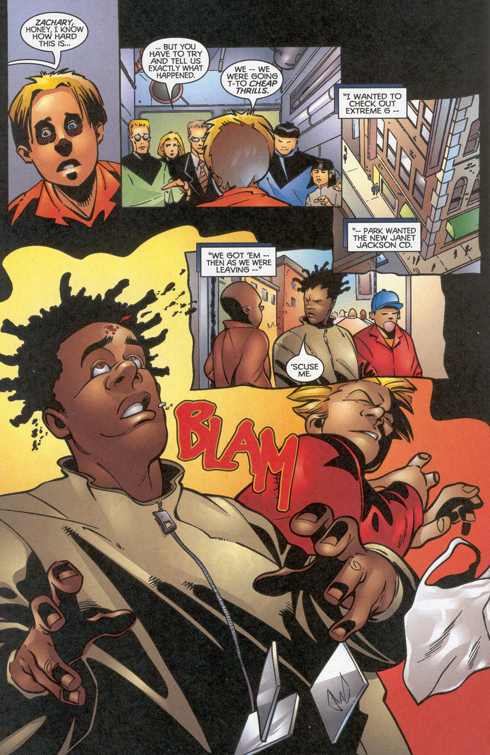 Read online Troublemakers comic -  Issue #12 - 13