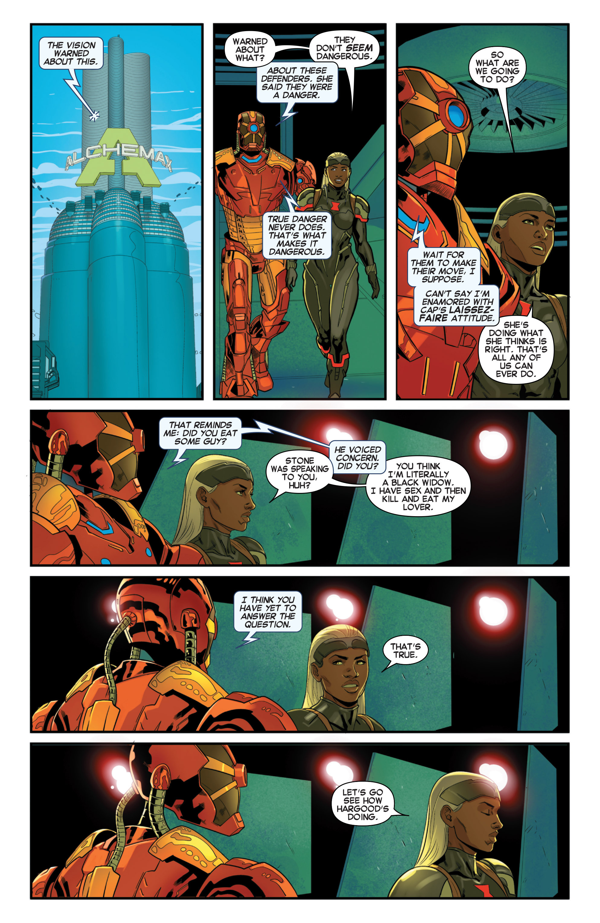 Read online Secret Wars 2099 comic -  Issue #3 - 11