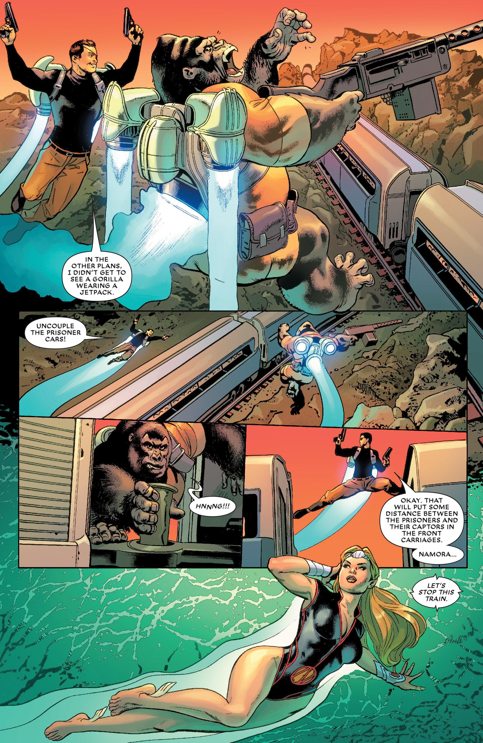 Read online Secret Wars Journal/Battleworld comic -  Issue # TPB - 96