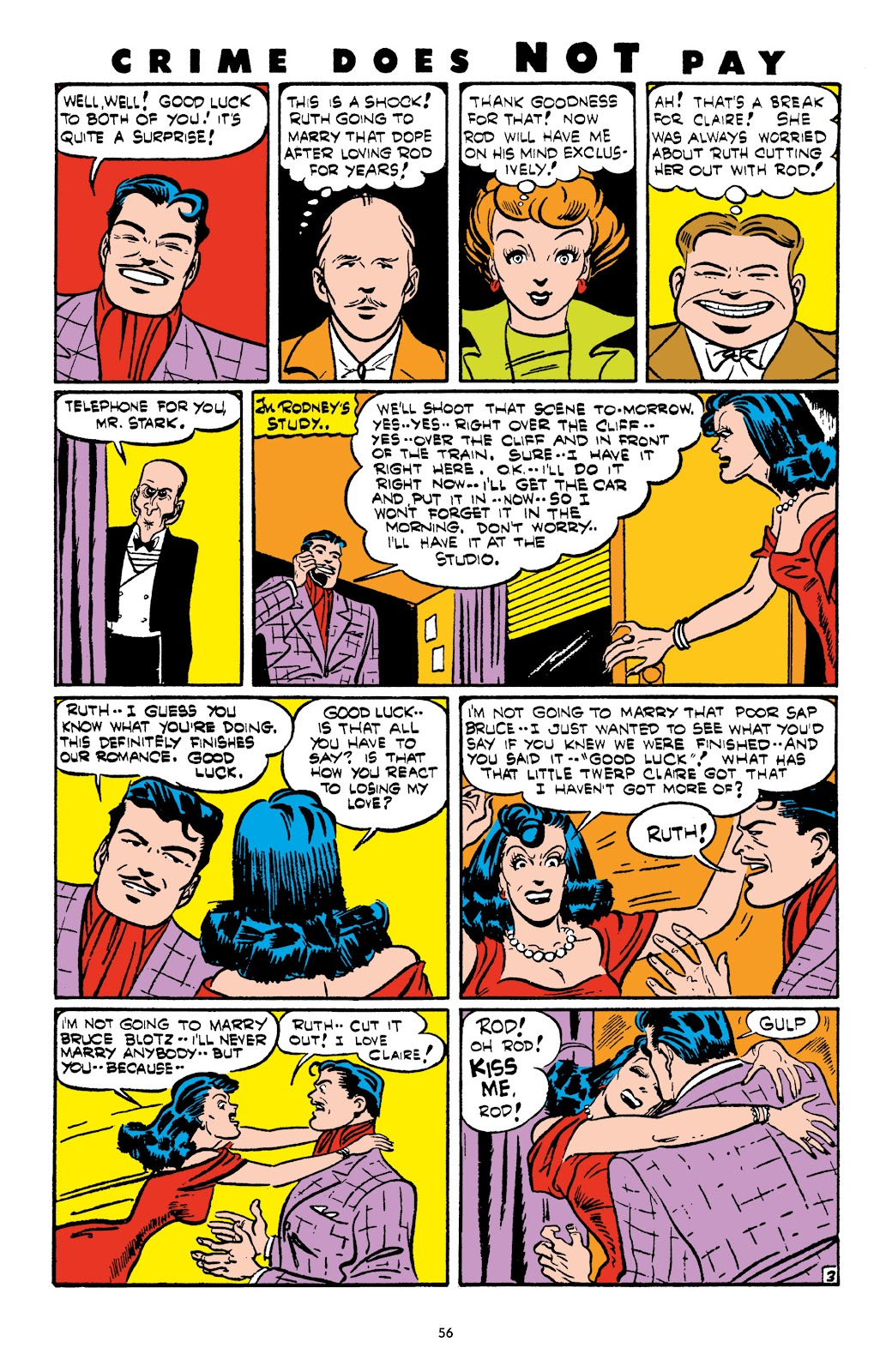 Read online Crime Does Not Pay Archives comic -  Issue # TPB 4 (Part 1) - 56