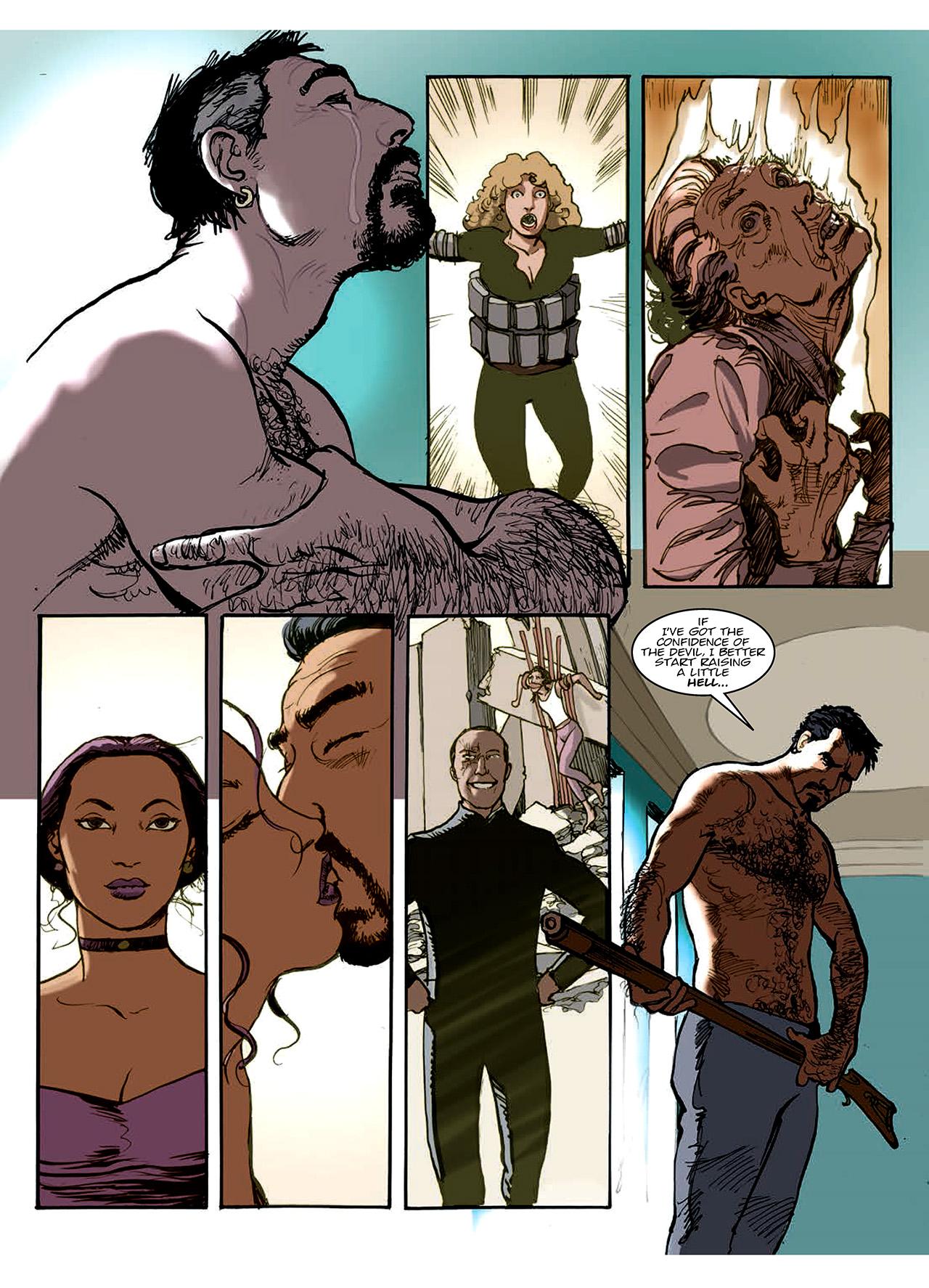 Read online Nikolai Dante comic -  Issue # TPB 10 - 152