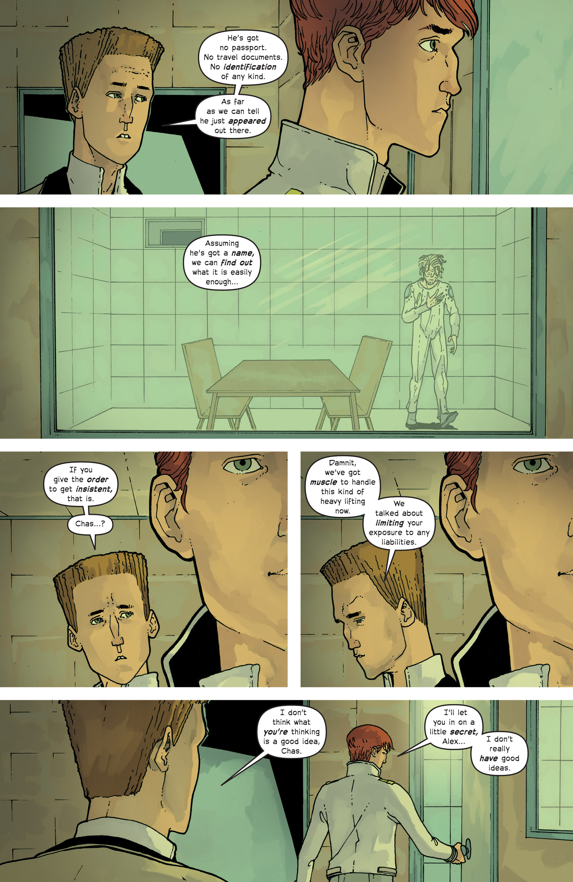 Read online Great Pacific comic -  Issue #13 - 8