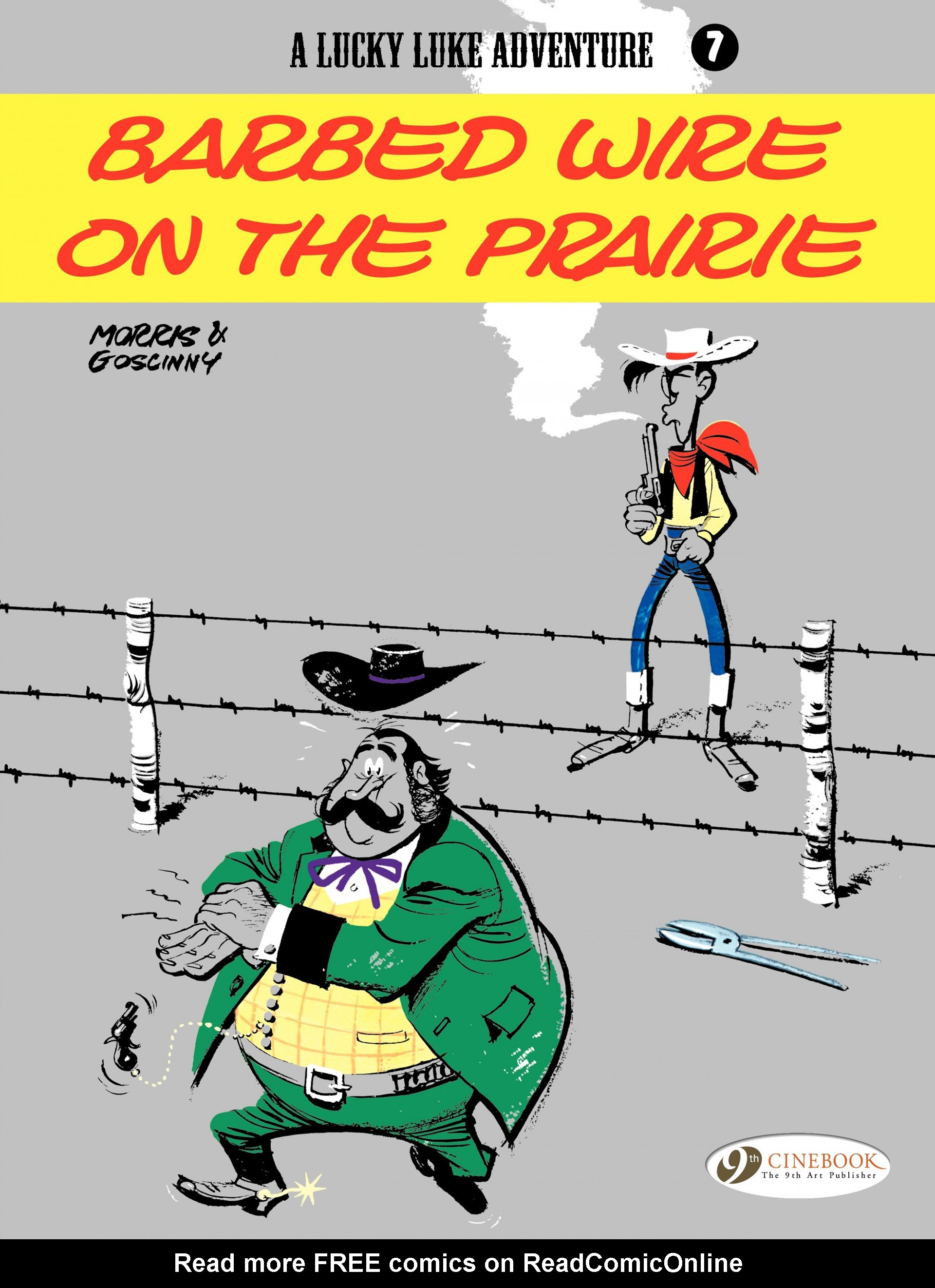 Read online A Lucky Luke Adventure comic -  Issue #7 - 1