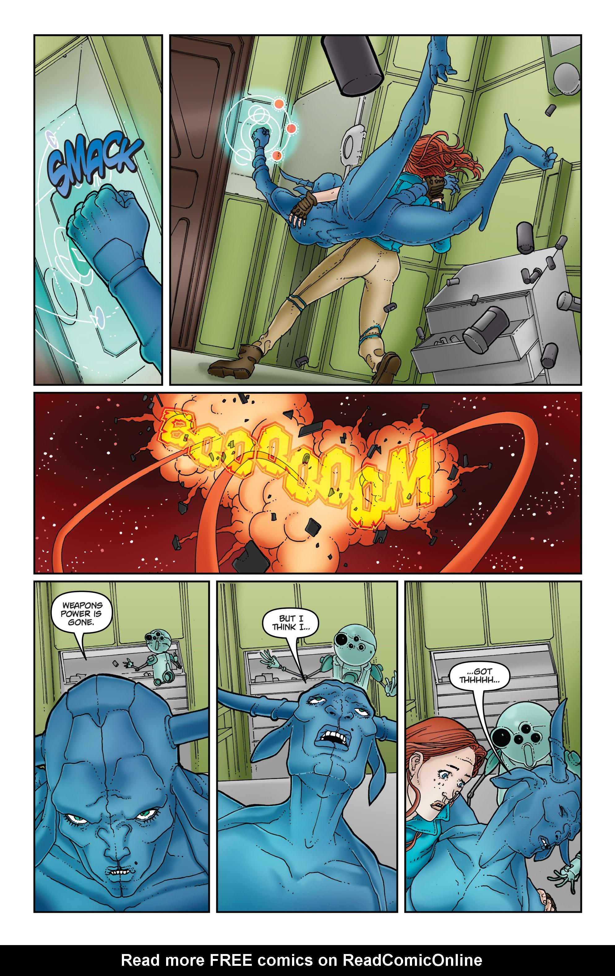 Read online Satellite Falling comic -  Issue #5 - 13