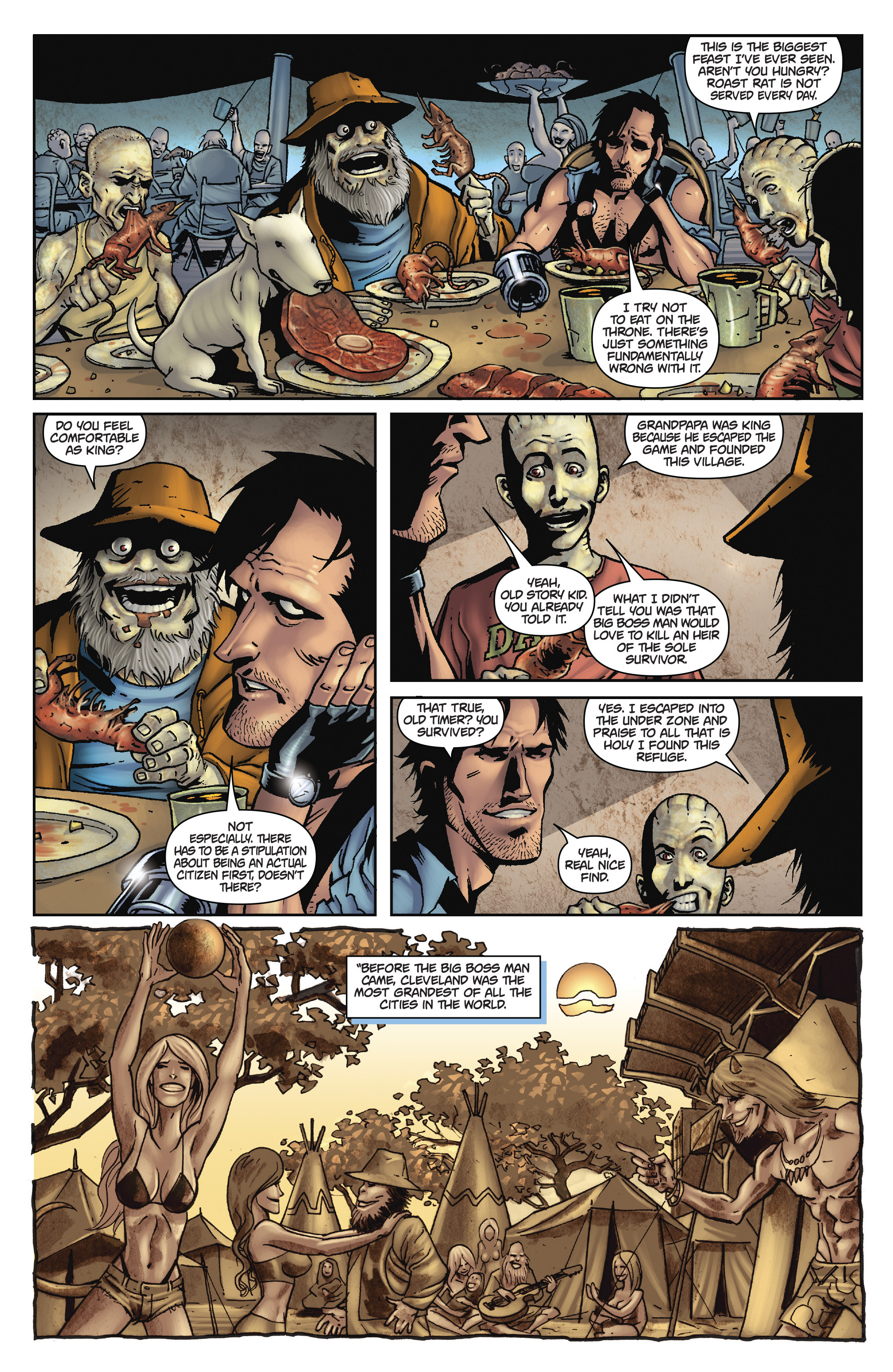 Read online Army of Darkness: The Long Road Home comic -  Issue #Army of Darkness: The Long Road Home TPB - 75