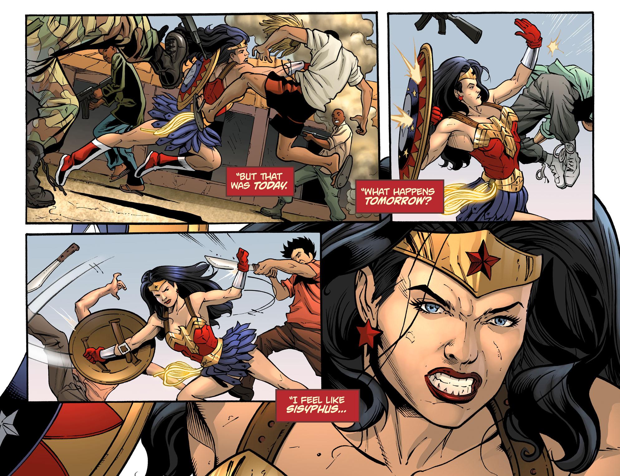 Read online Sensation Comics Featuring Wonder Woman comic -  Issue #33 - 12