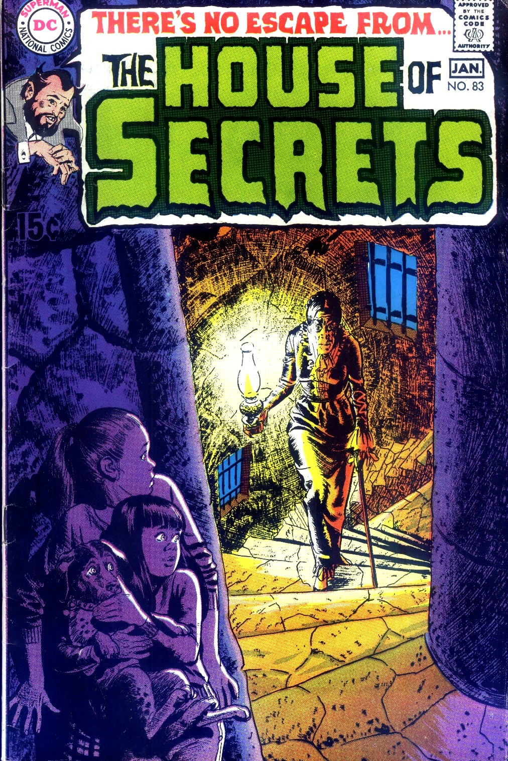 House of Secrets (1956) issue 83 - Page 1