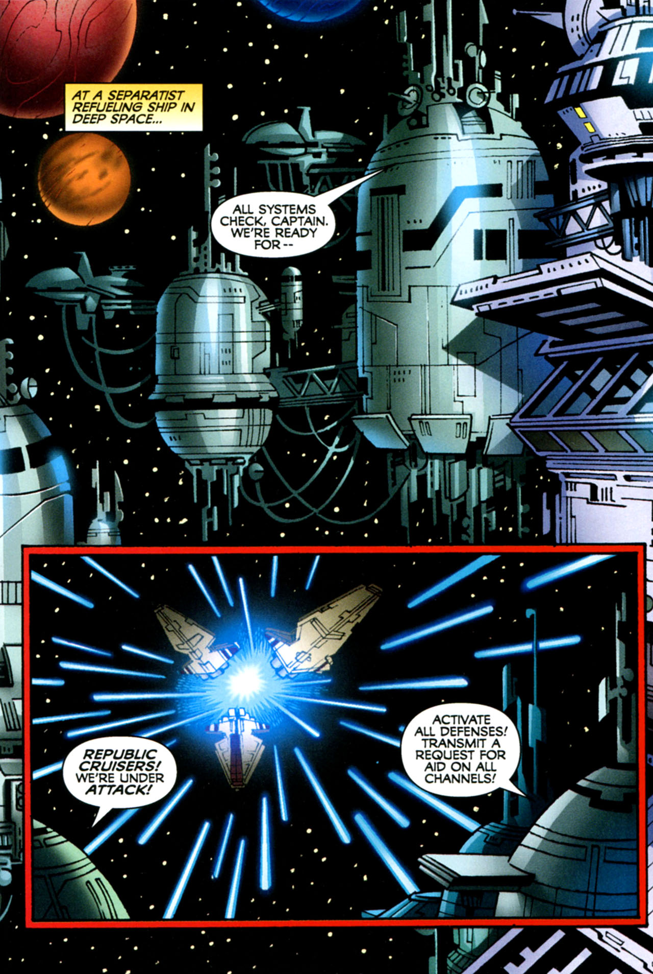 Read online Star Wars: The Clone Wars - The Starcrusher Trap comic -  Issue # Full - 28