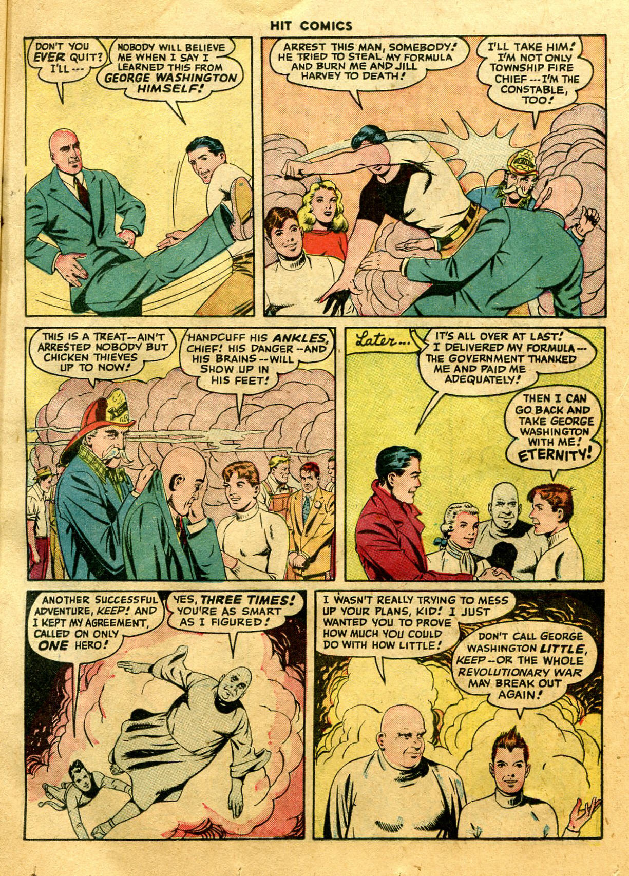 Read online Hit Comics comic -  Issue #44 - 17