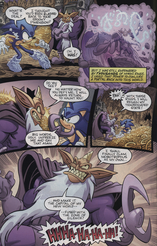 Read online Sonic the Hedgehog Free Comic Book Day Edition comic -  Issue # Special 5 - 10
