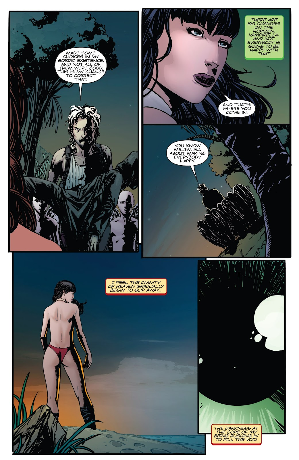 Read online Vampirella Strikes comic -  Issue #6 - 29