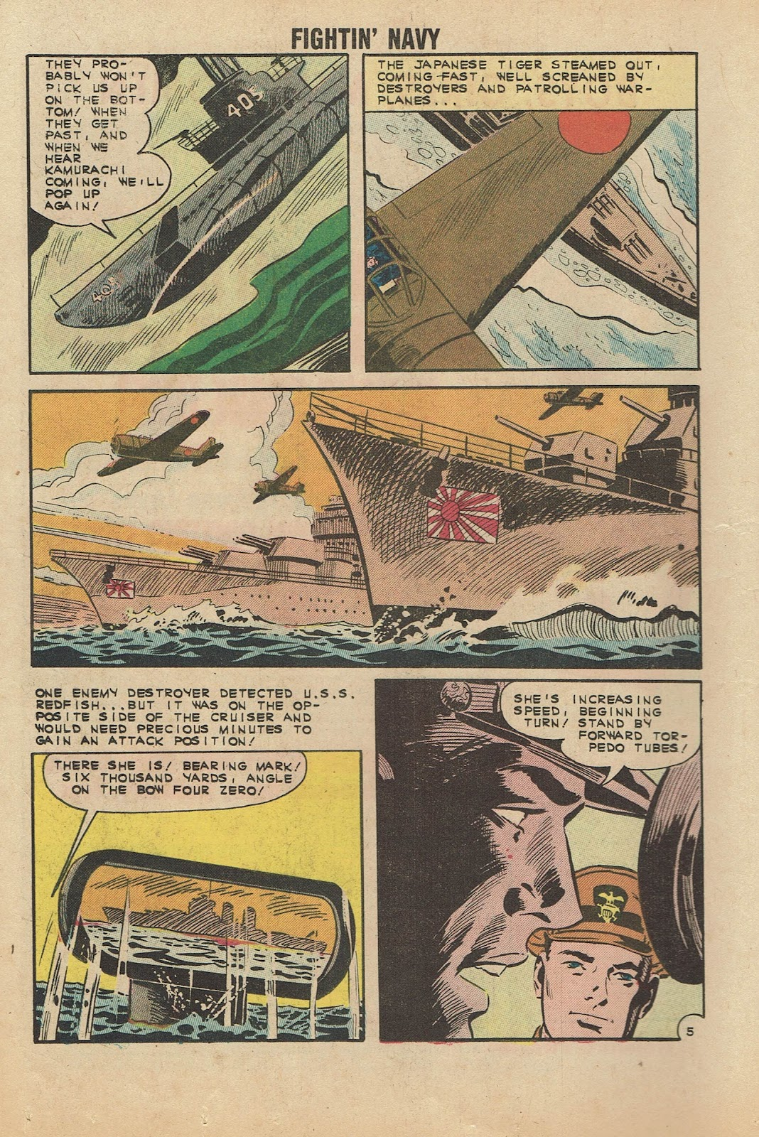 Read online Fightin' Navy comic -  Issue #104 - 16