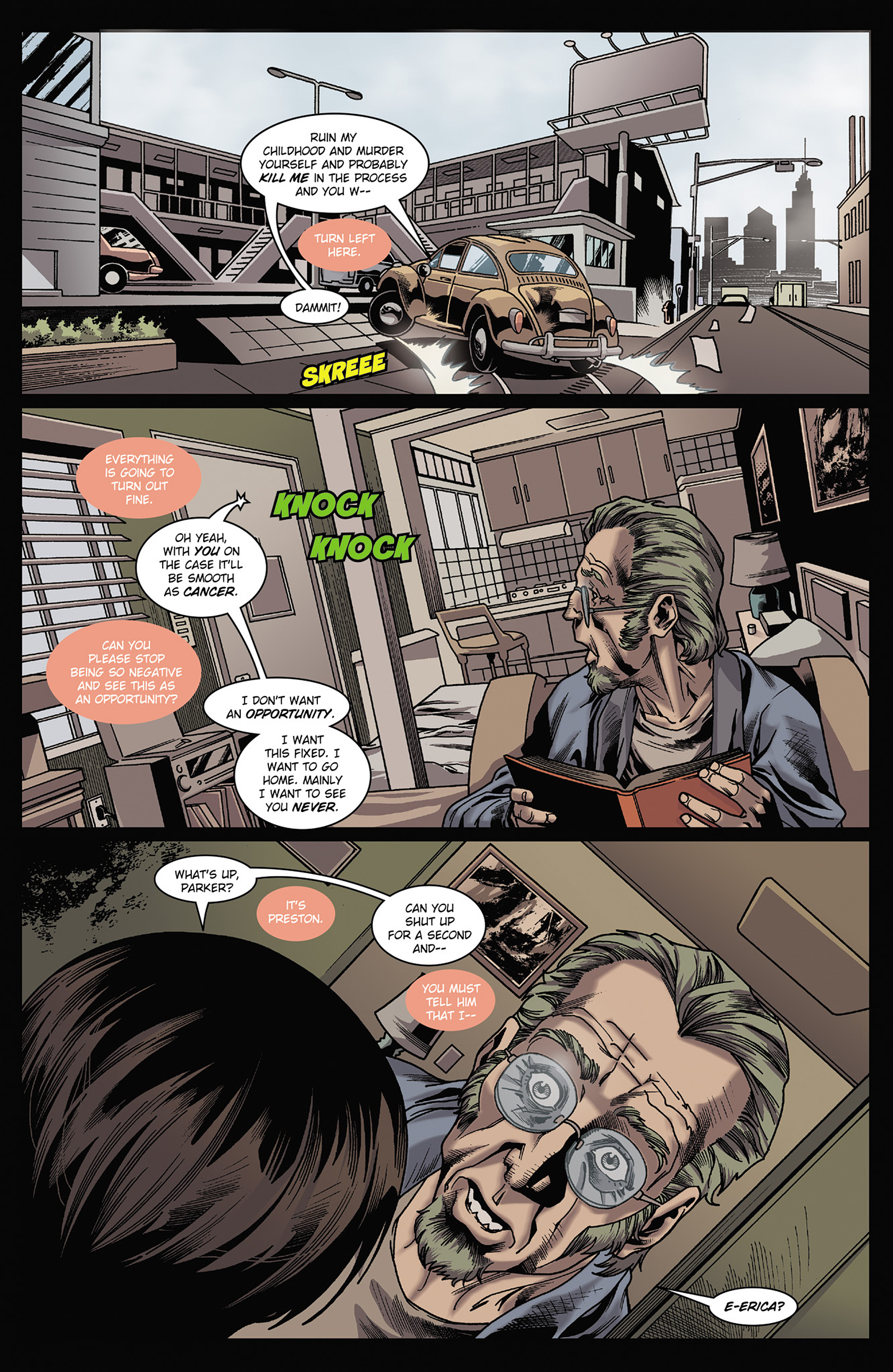 Read online Solar: Man of the Atom (2014) comic -  Issue #3 - 6