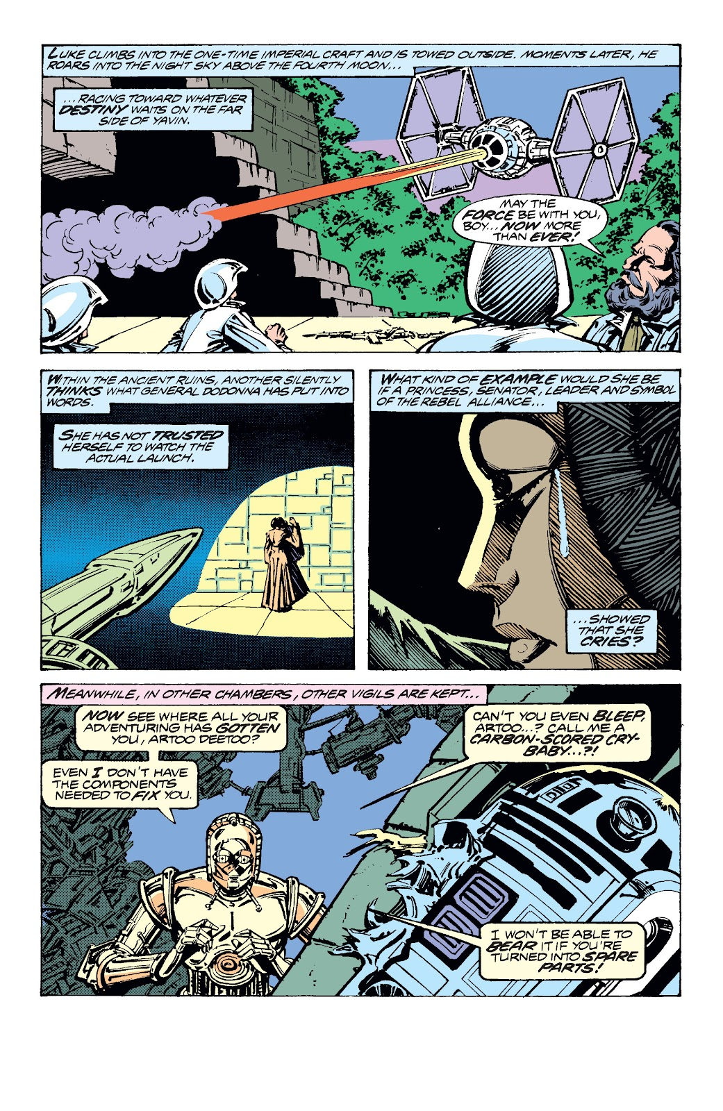 Read online Star Wars Legends: The Original Marvel Years - Epic Collection comic -  Issue # TPB 2 (Part 1) - 52