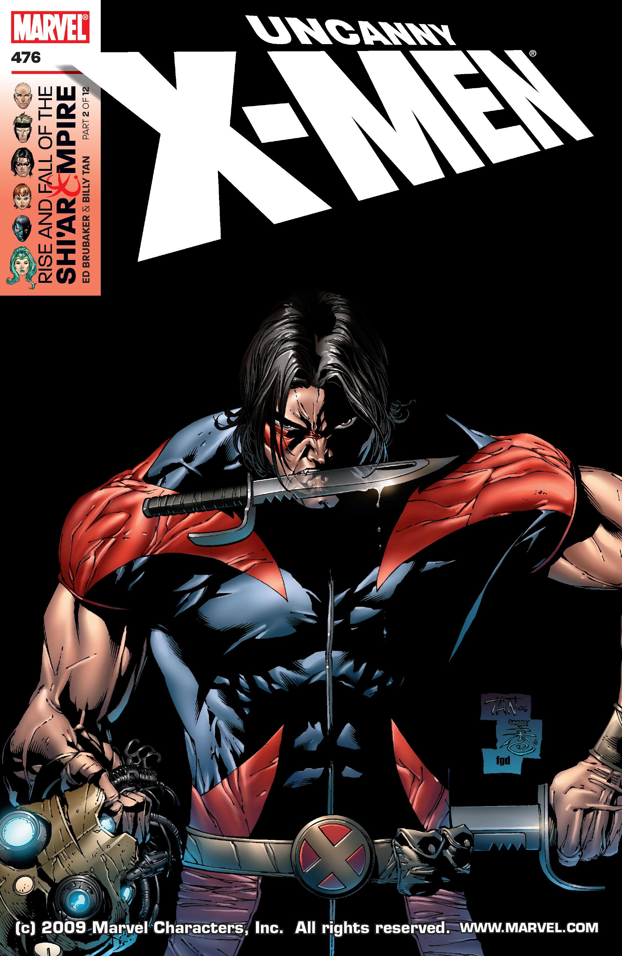 Uncanny X-Men (1963) 476 Page 1