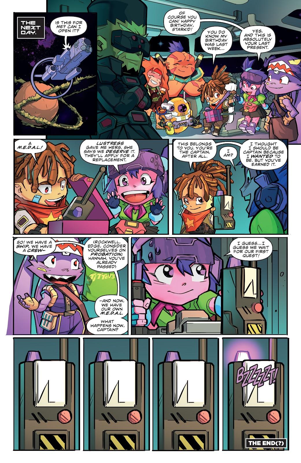 Read online Starcadia Quest comic -  Issue #3 - 22