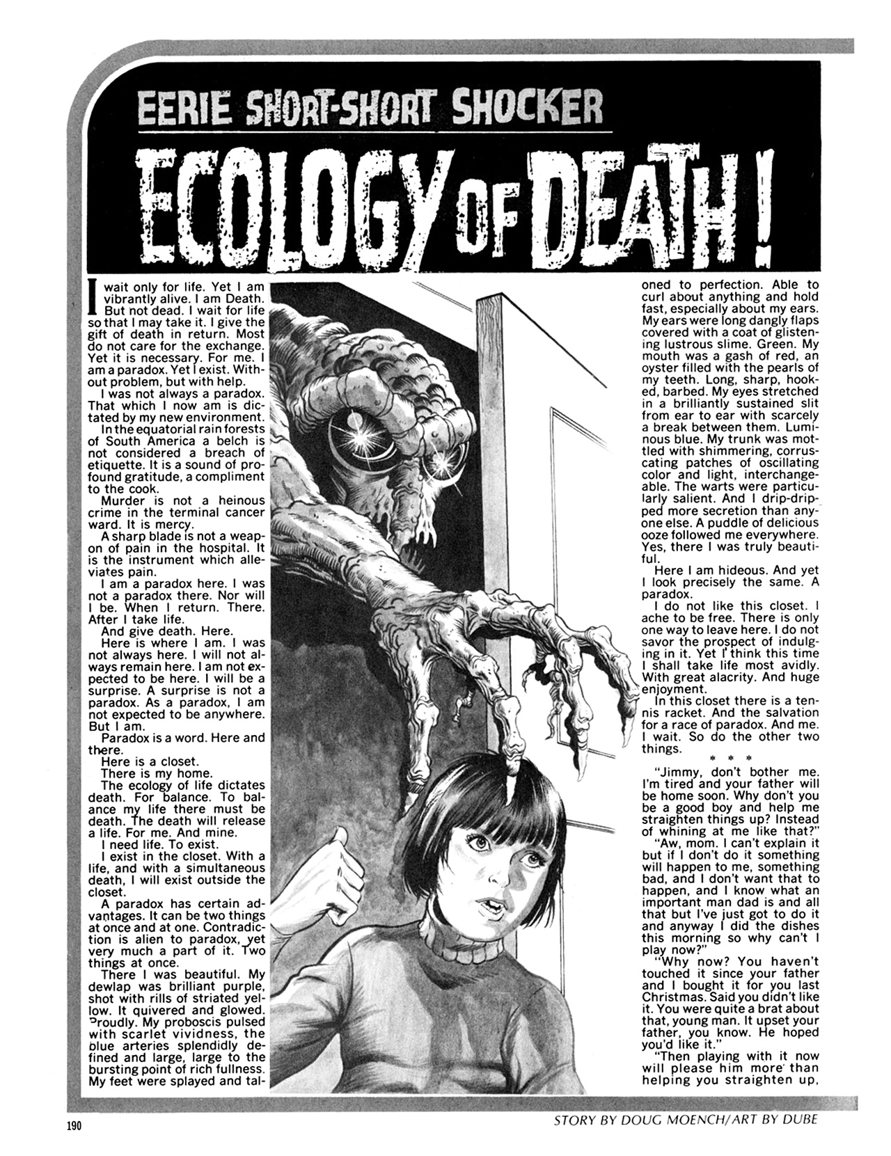 Read online Eerie Archives comic -  Issue # TPB 9 - 191
