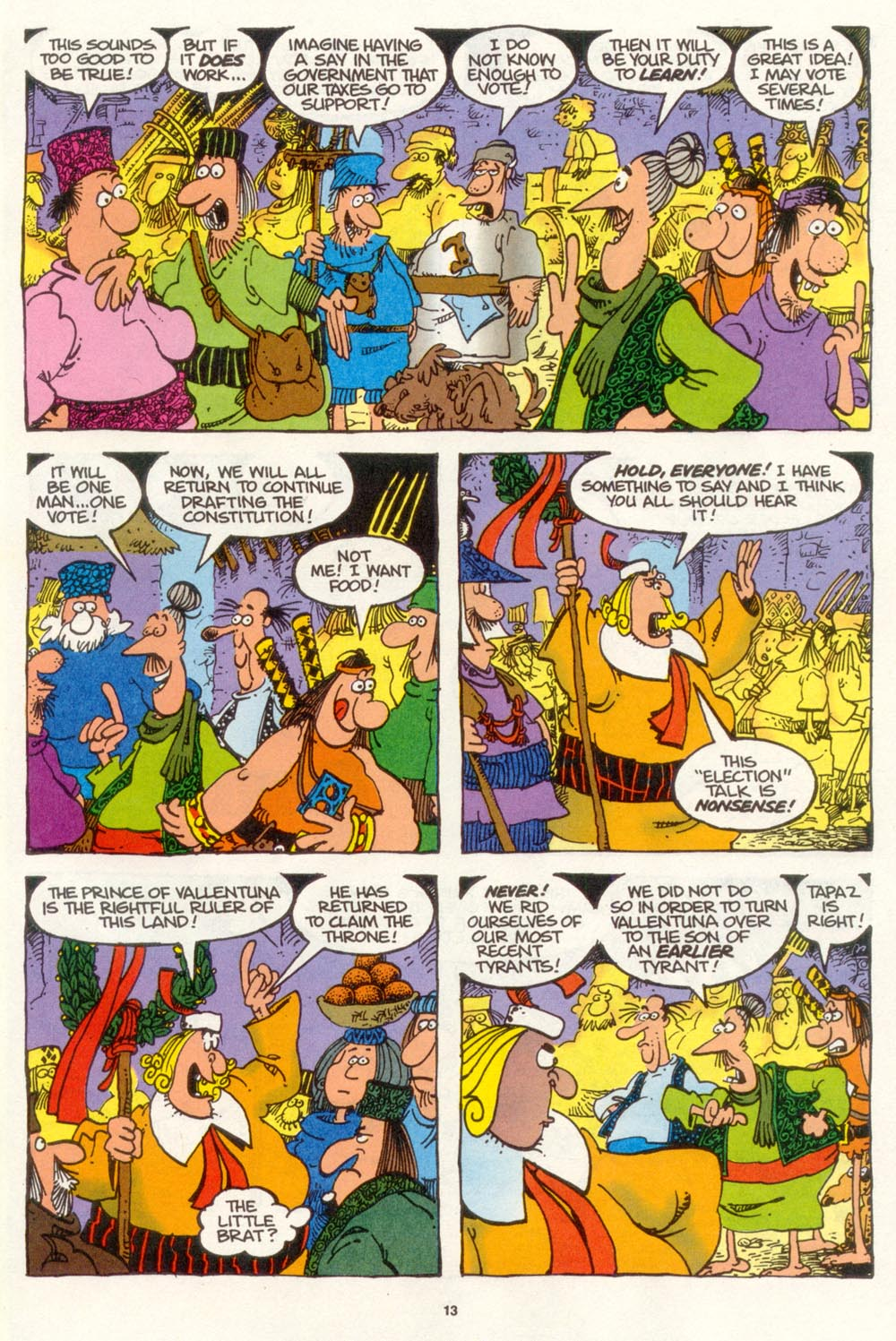 Read online Sergio Aragonés Groo the Wanderer comic -  Issue #108 - 15