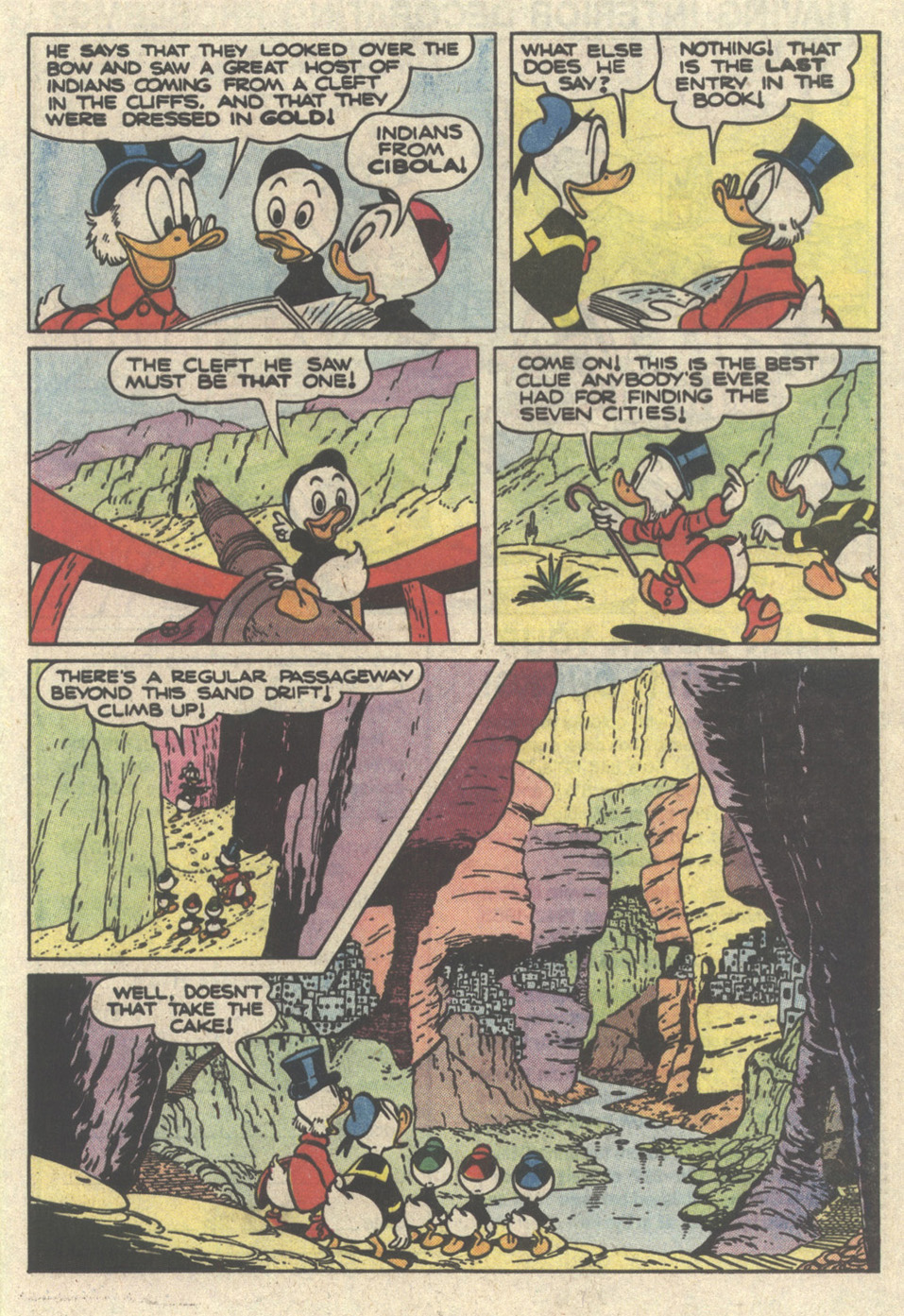 Read online Uncle Scrooge (1953) comic -  Issue #217 - 25