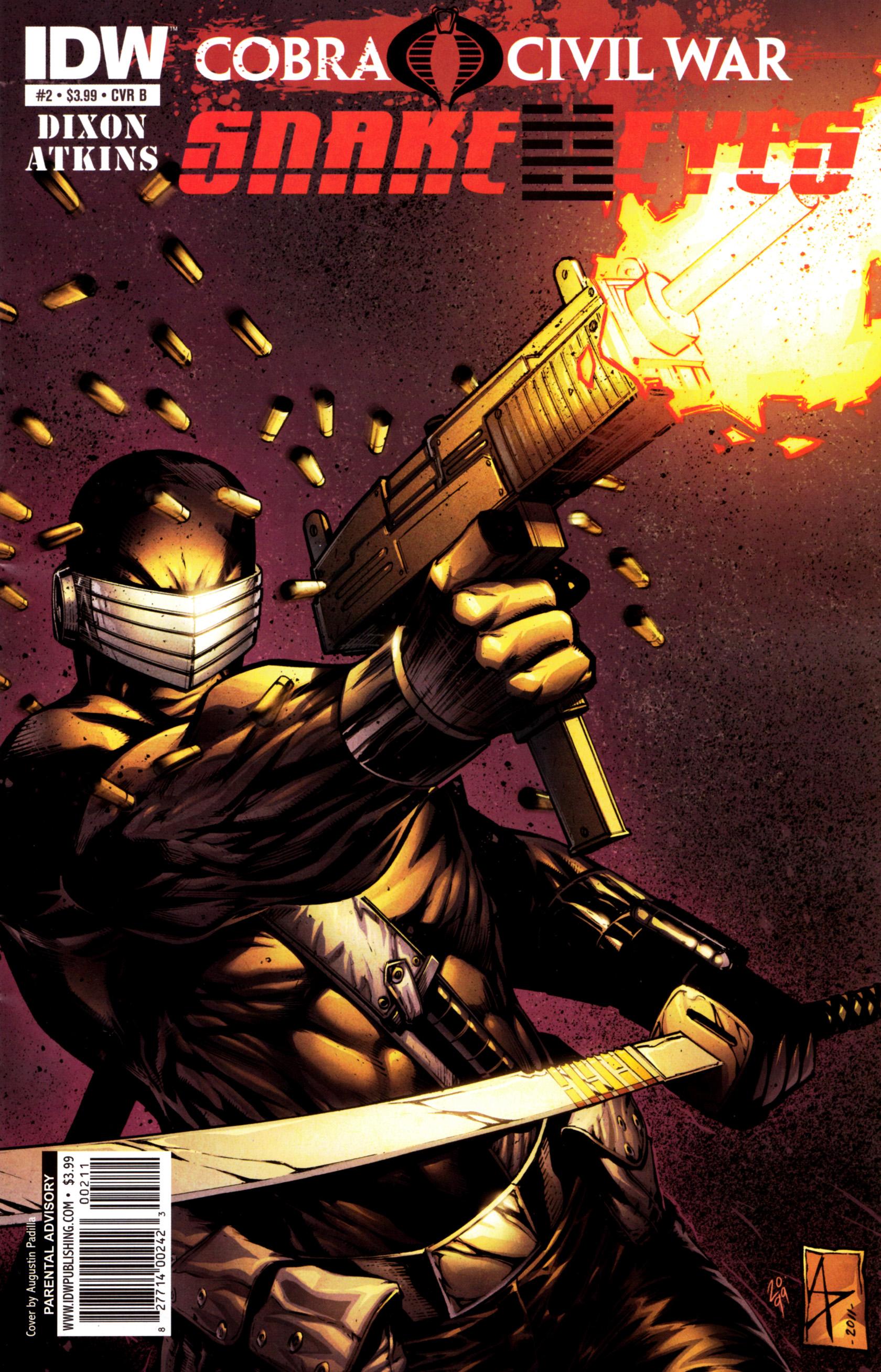 Read online G.I. Joe: Snake Eyes comic -  Issue #2 - 2