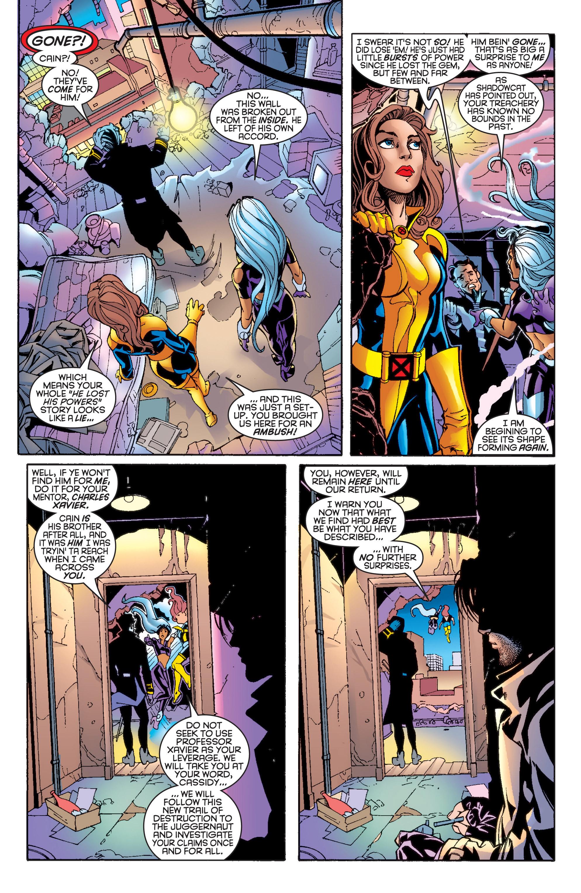 Read online Uncanny X-Men (1963) comic -  Issue #361 - 10