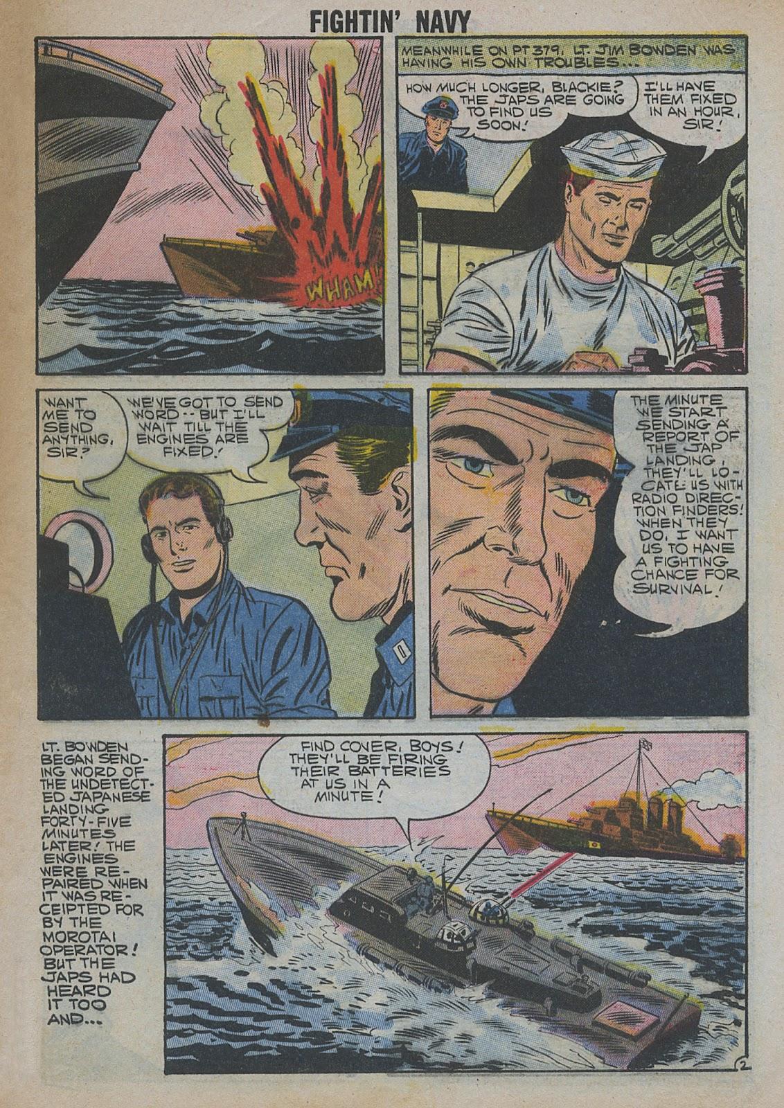 Read online Fightin' Navy comic -  Issue #82 - 9