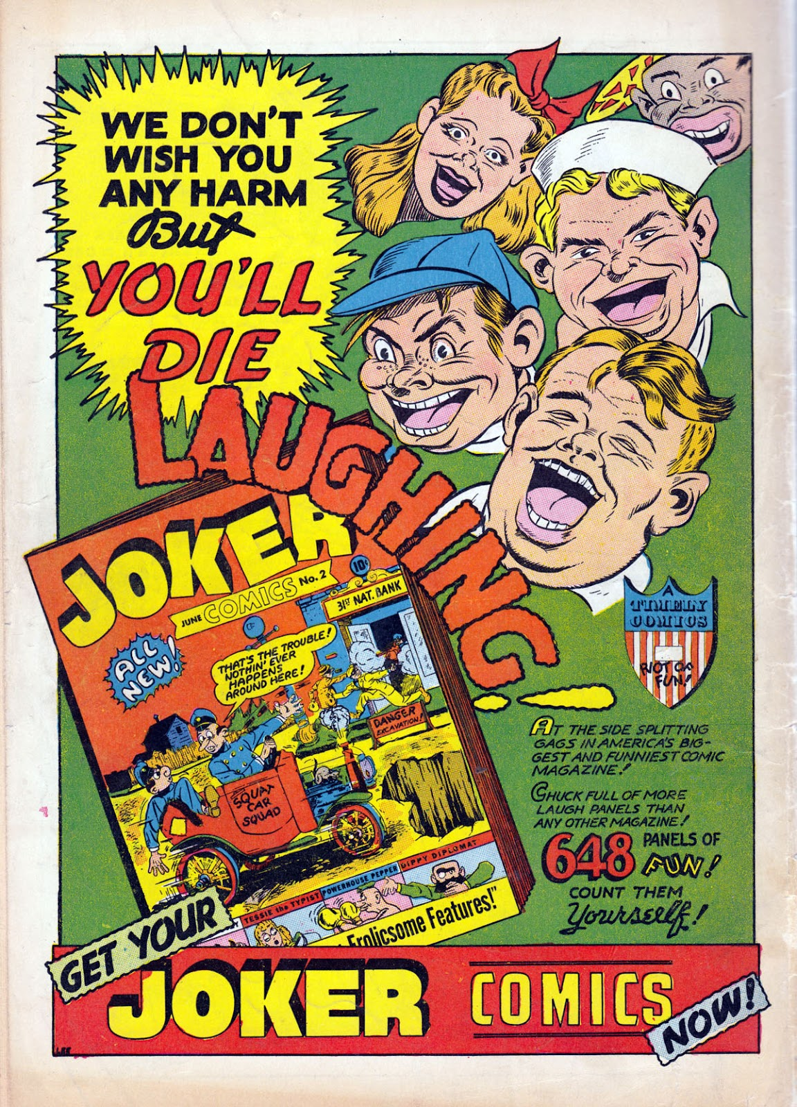 Read online Comedy Comics (1942) comic -  Issue #10 - 68