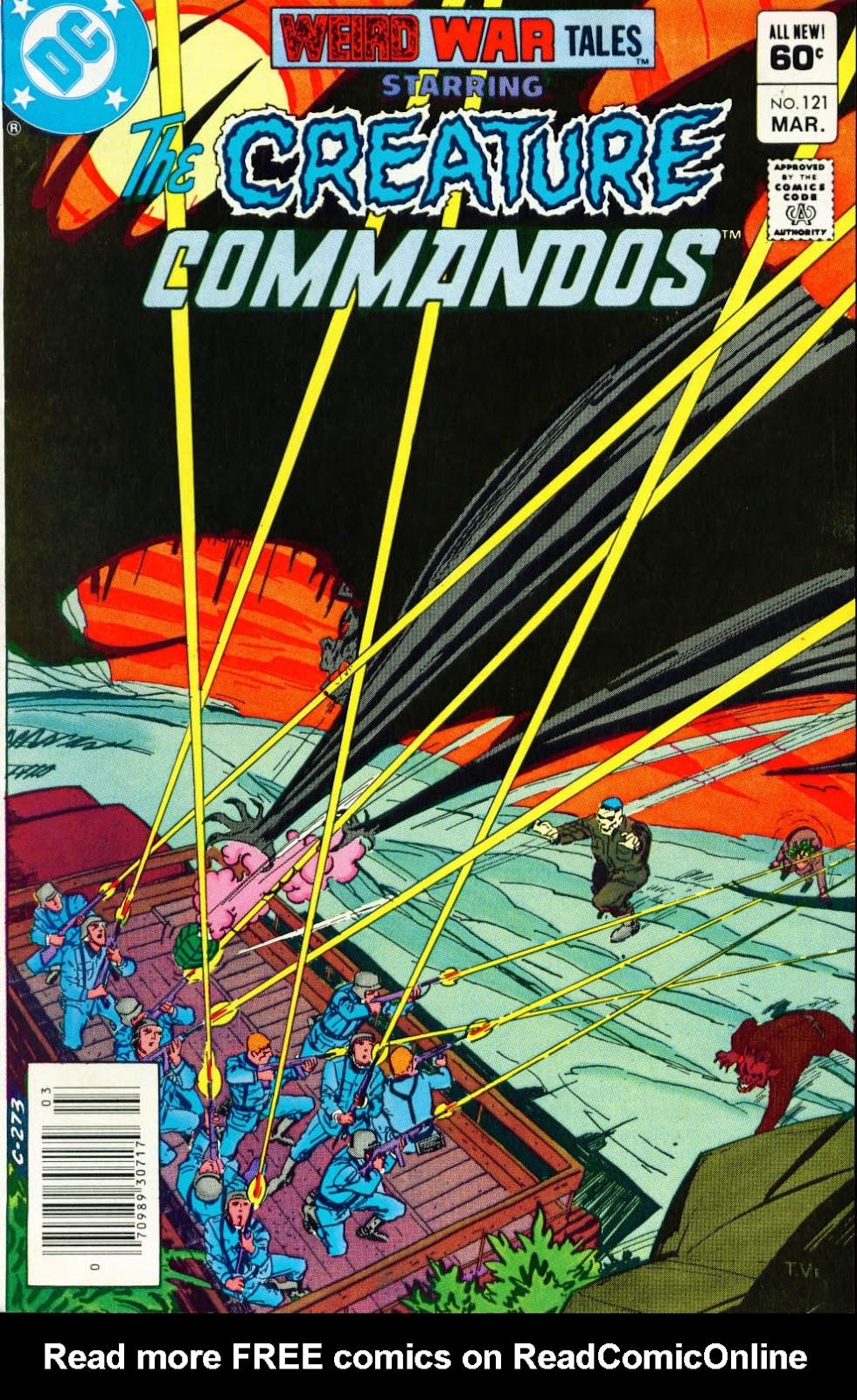 Weird War Tales (1971) issue 121 - Page 1