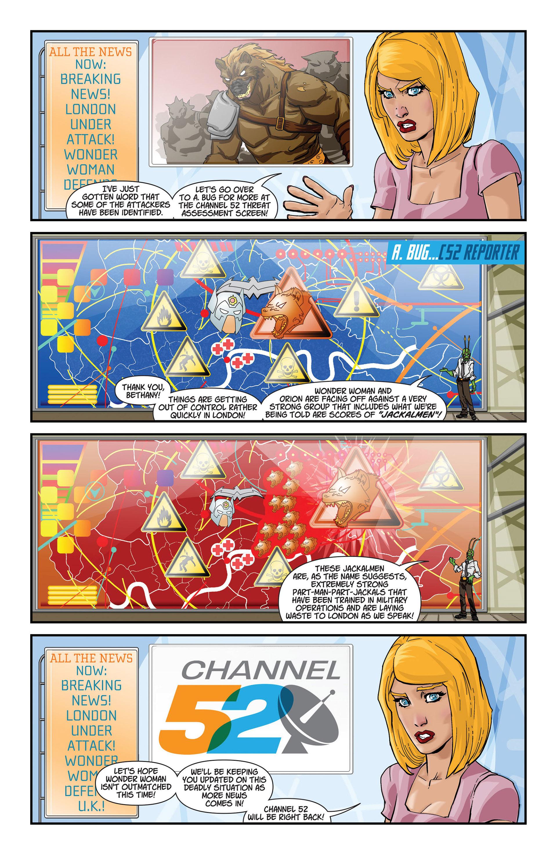 Read online Animal Man (2011) comic -  Issue #22 - 21
