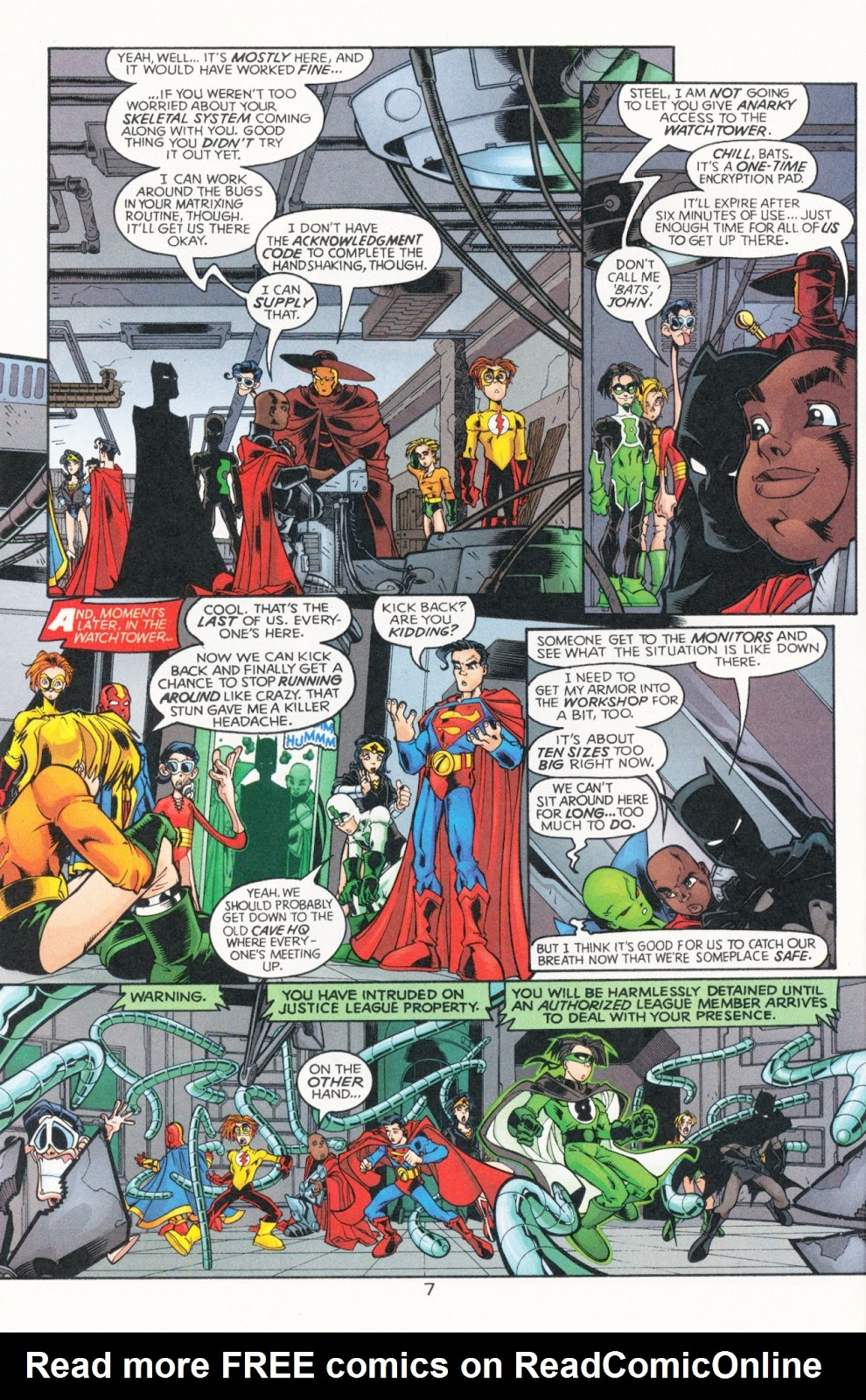 Sins of Youth issue JLA Jr. - Page 12
