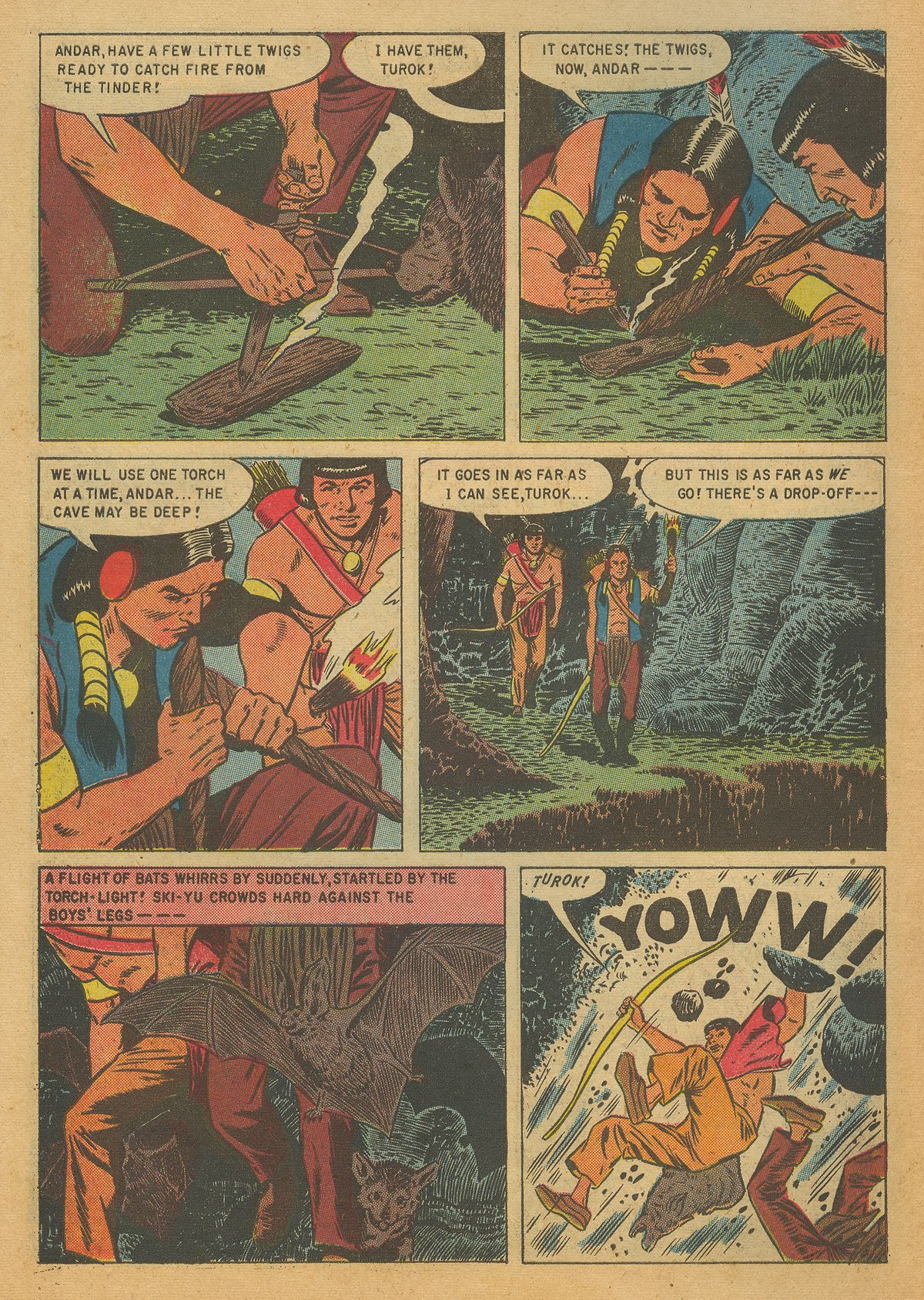 Read online Turok, Son of Stone comic -  Issue #7 - 10