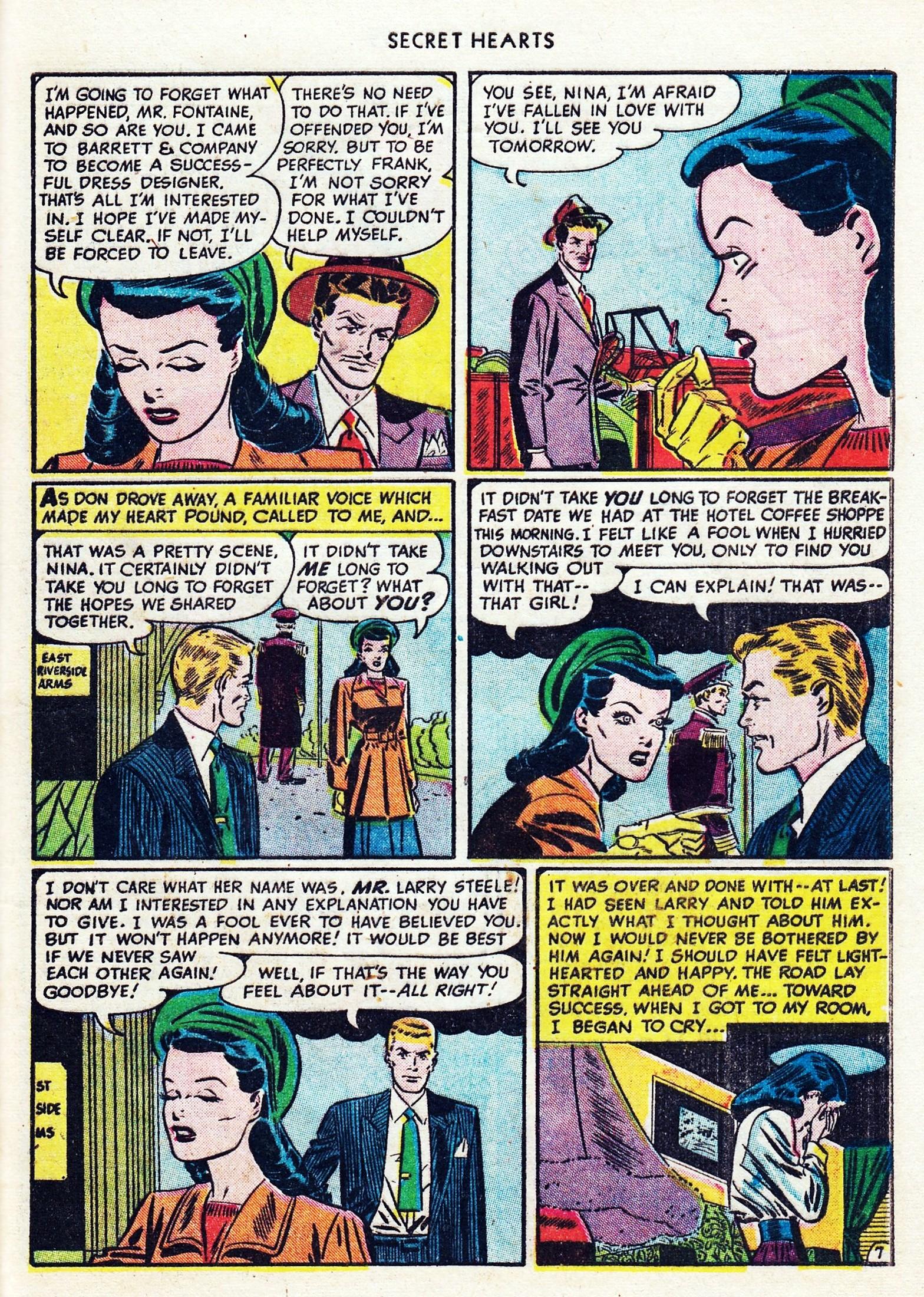 Read online Secret Hearts comic -  Issue #1 - 43