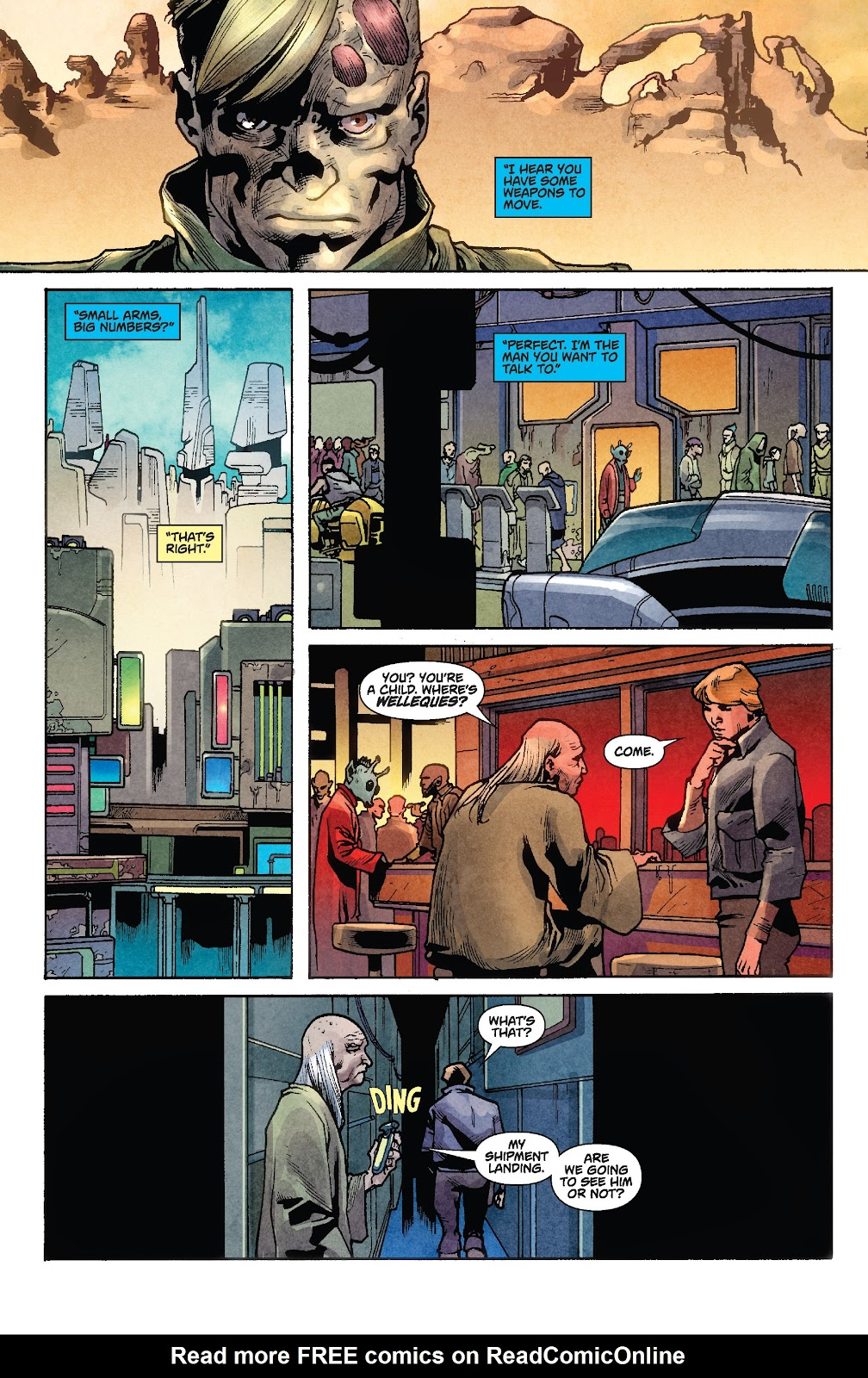 Read online Star Wars Legends: Rise of the Sith - Epic Collection comic -  Issue # TPB 1 (Part 2) - 41