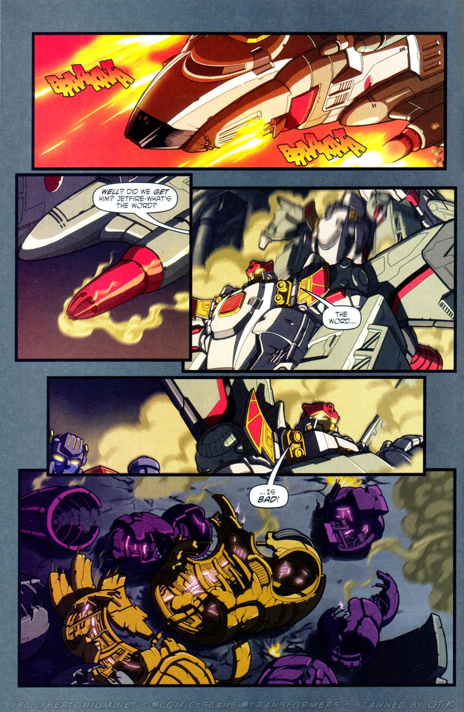 Read online Transformers Armada comic -  Issue #16 - 20